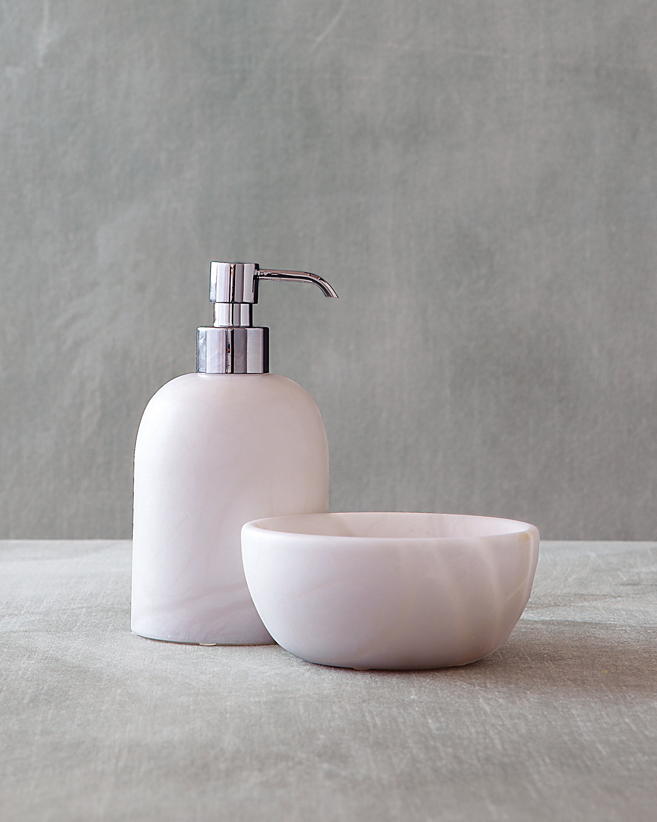 Soap Dispenser and Dish