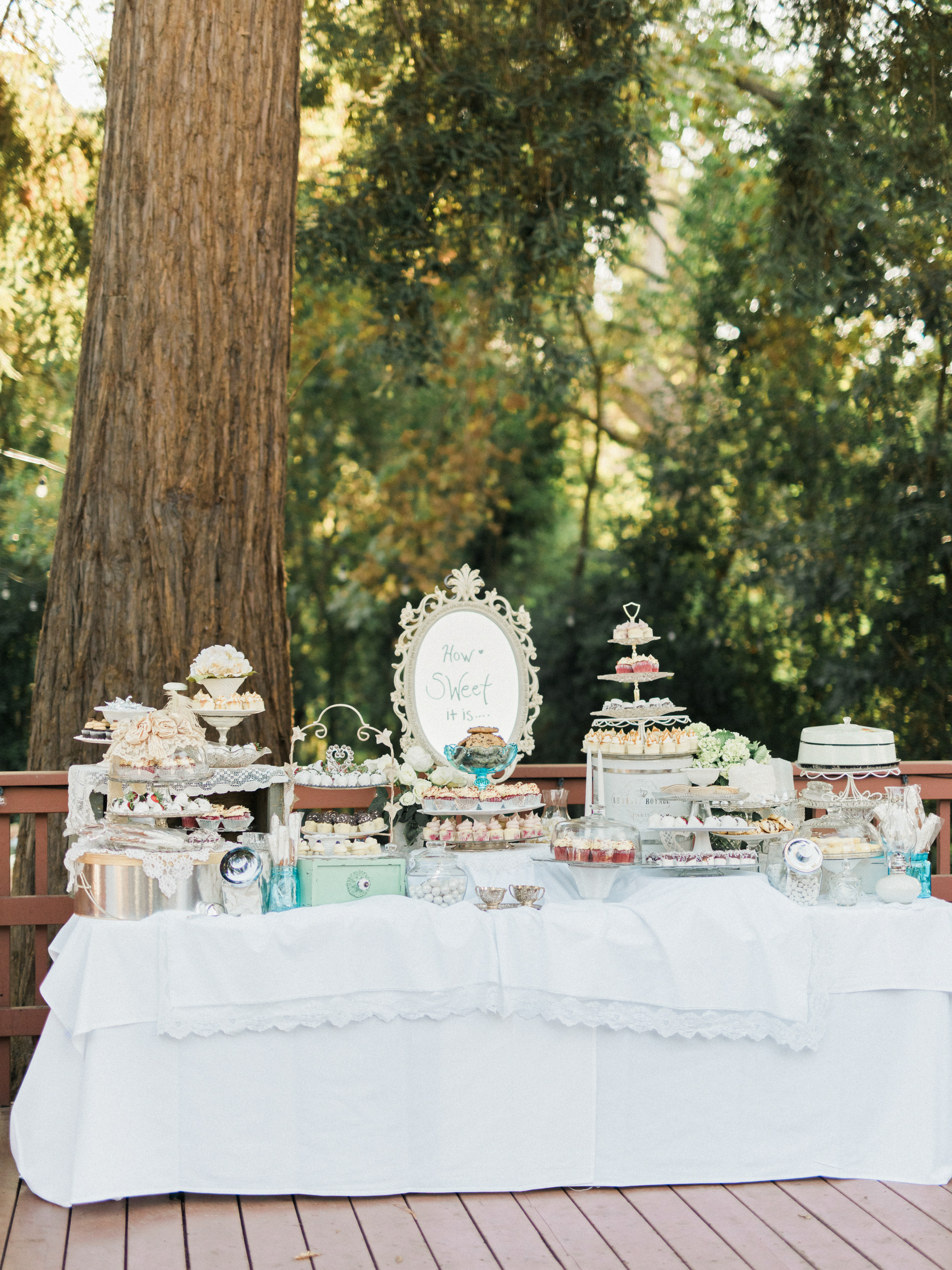 Tiered Dessert Display