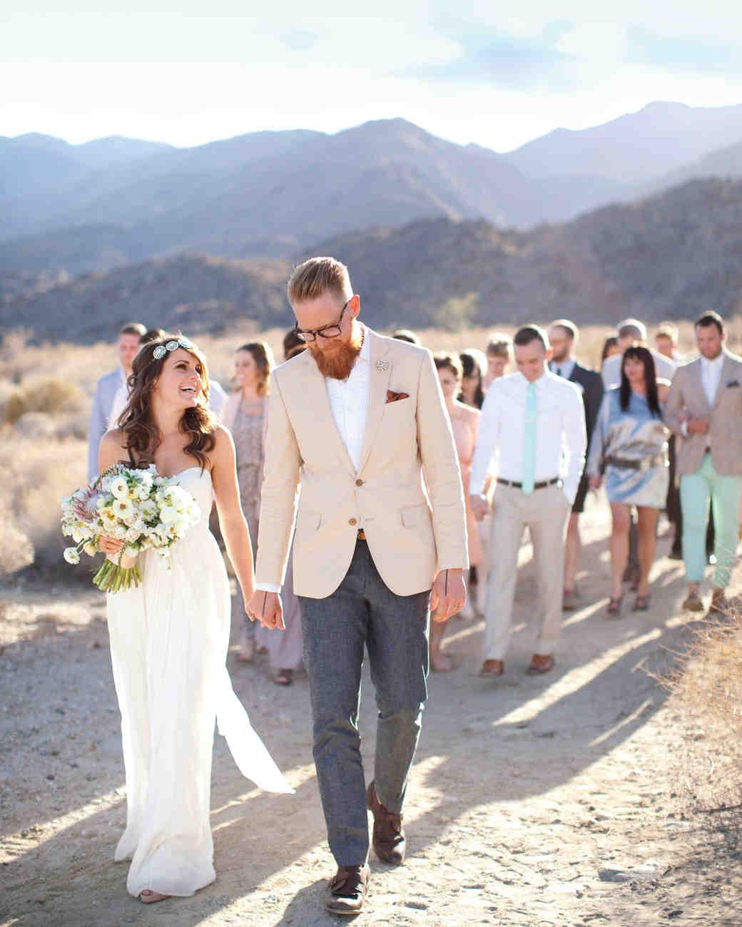 outdoor real wedding