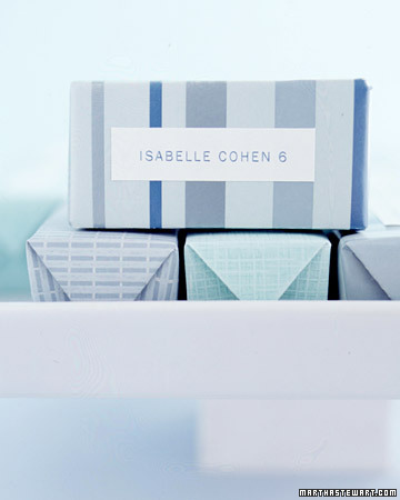 Seating Card Favor Boxes