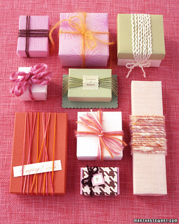 Yarn Favor Boxes