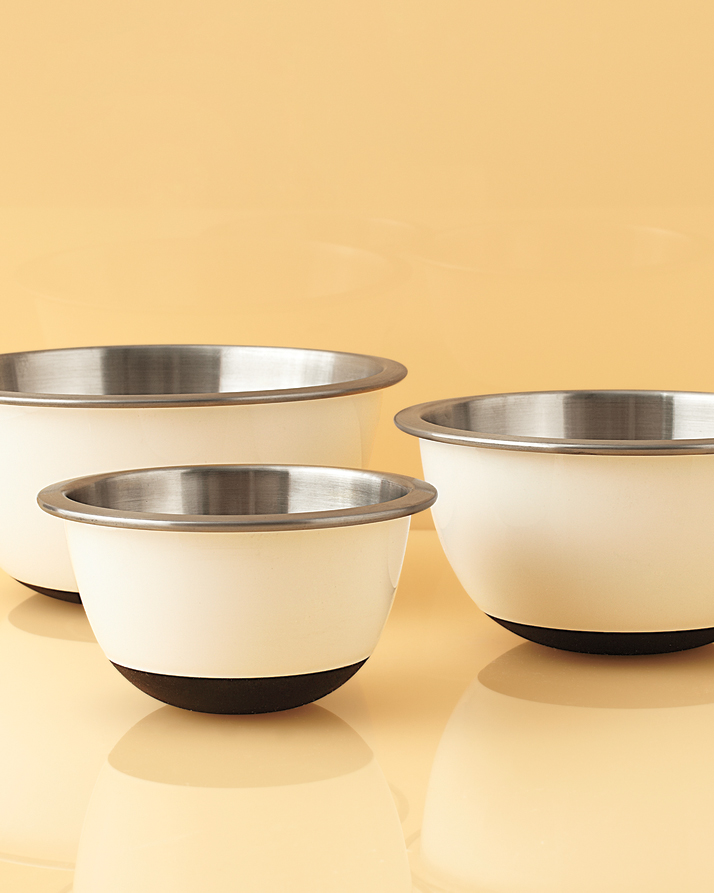 "OXO ""Good Grips"" Stainless Steel Mixing Bowls"