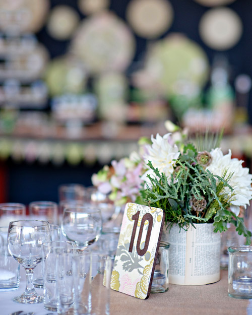 Rustic Table Card