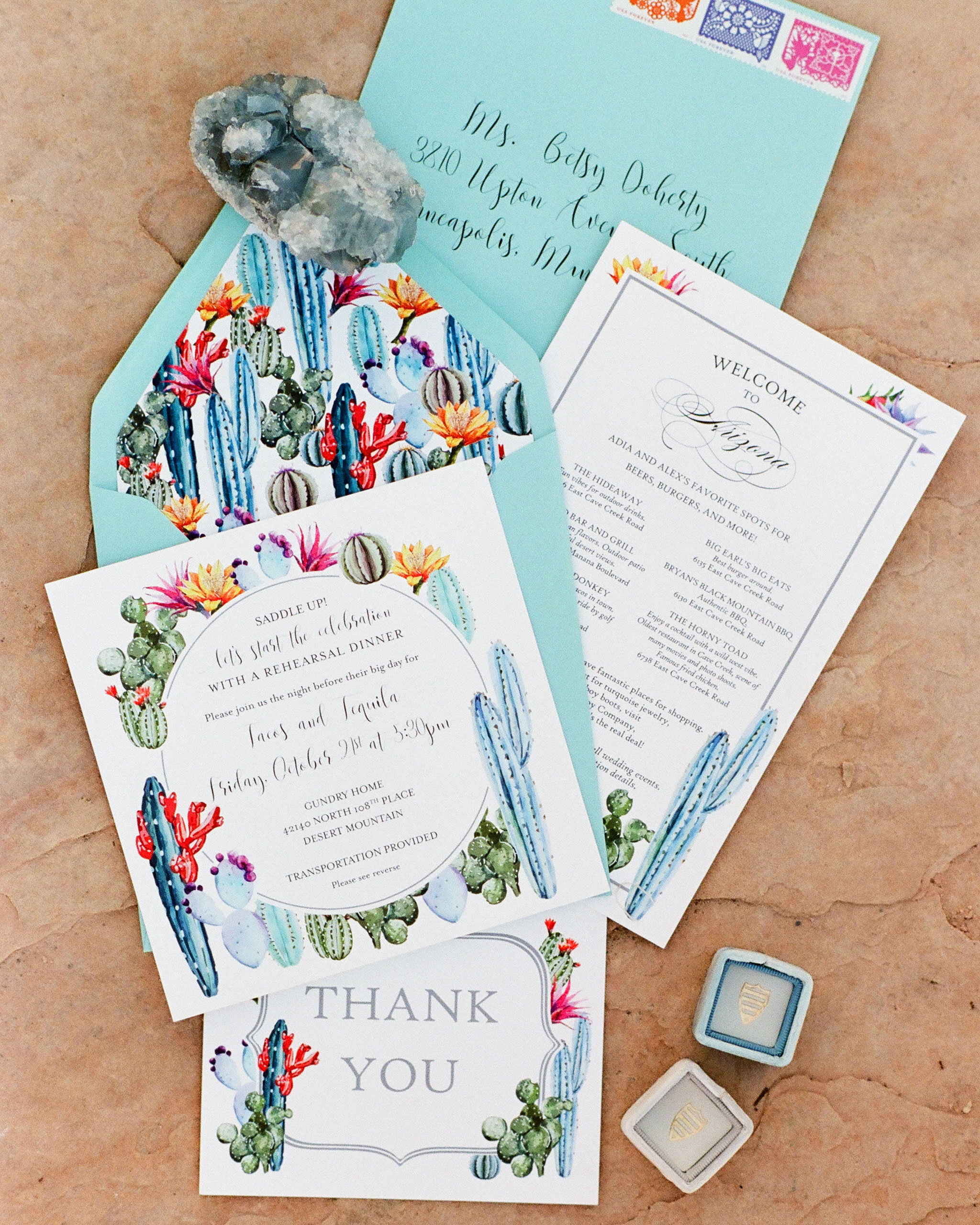 addie alex wedding invite cacti