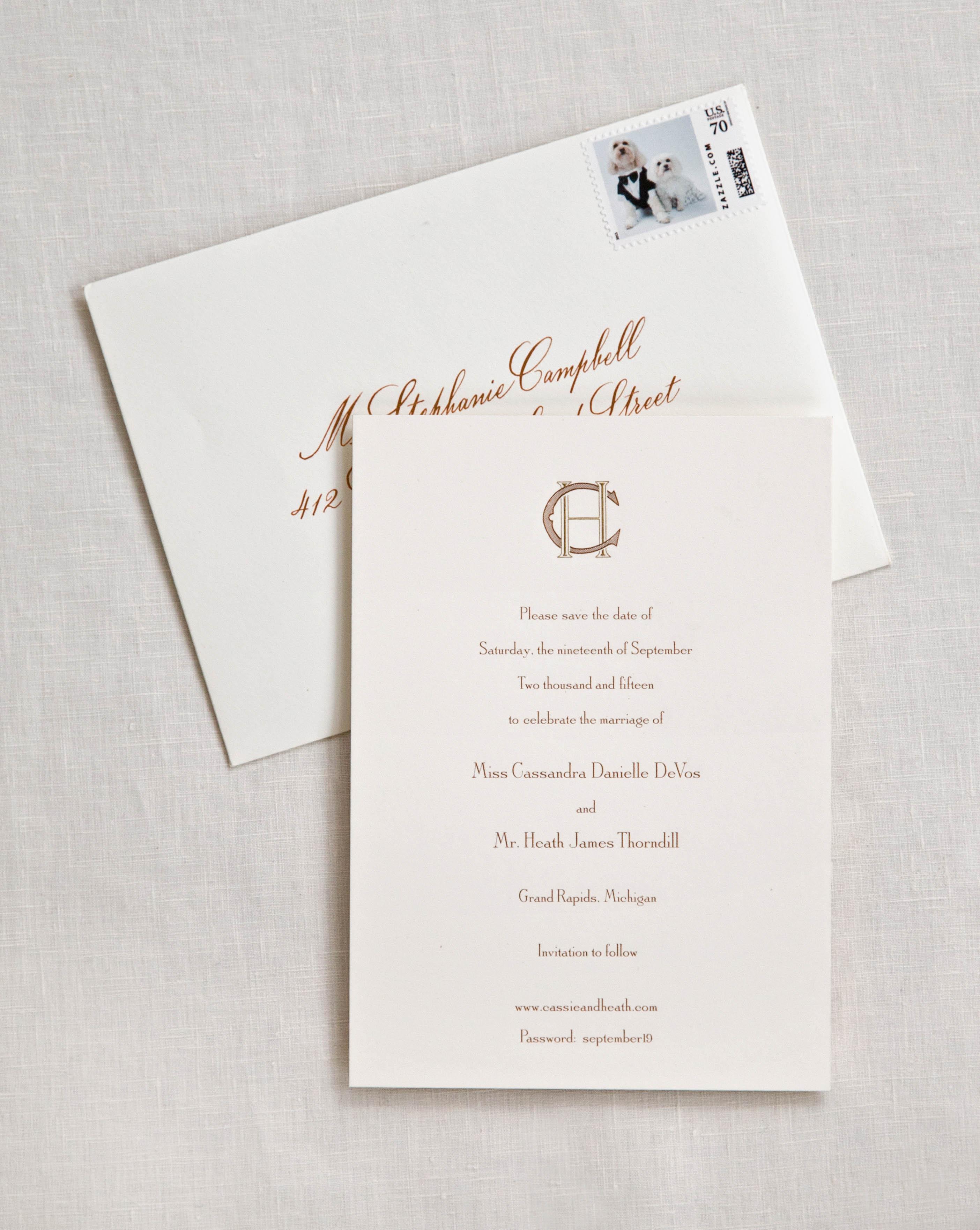 cass heath wedding save the date