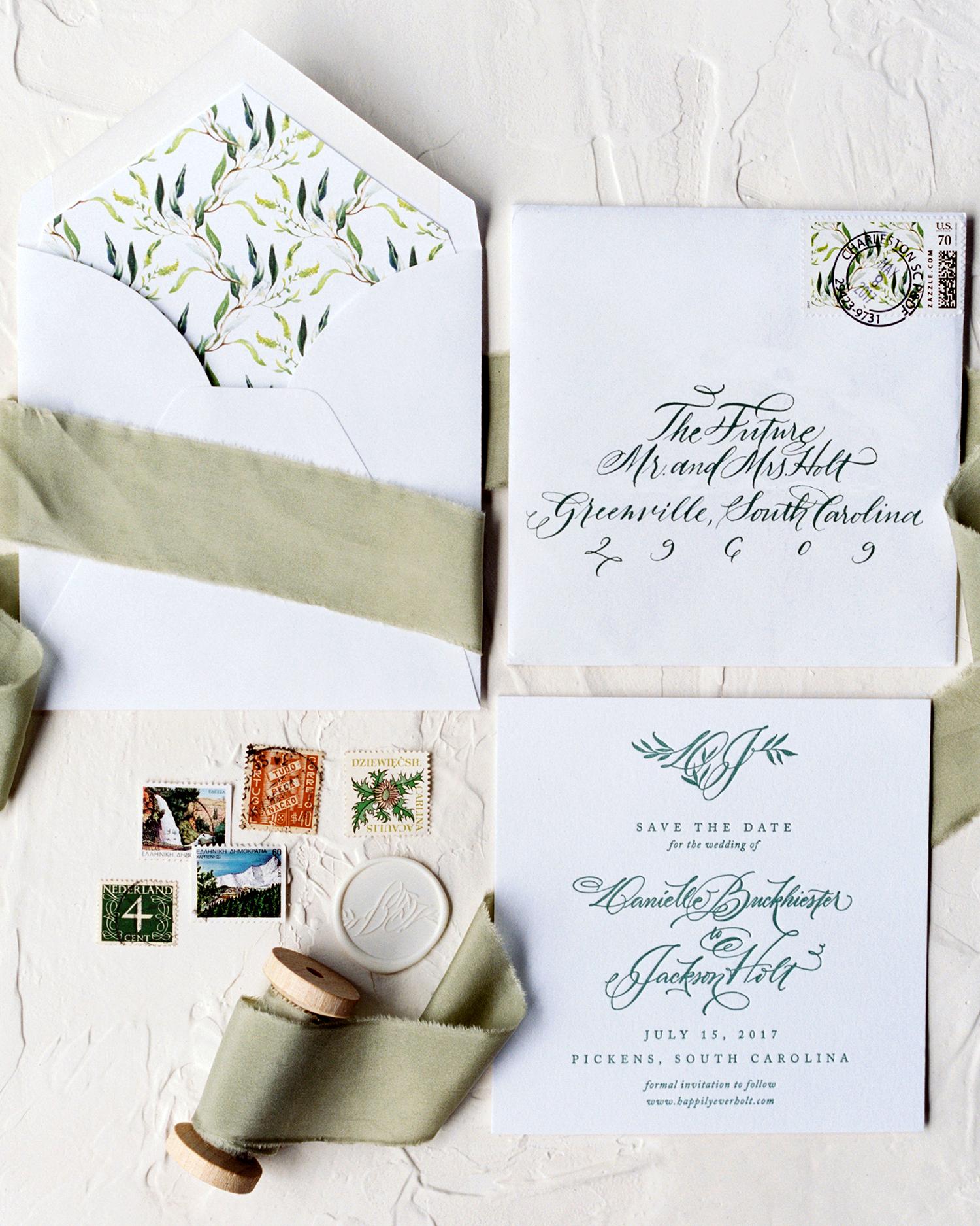 dani jackson wedding stationery