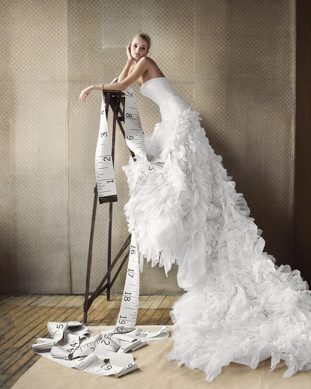 Find Your Wedding Dress Length Martha Stewart Weddings