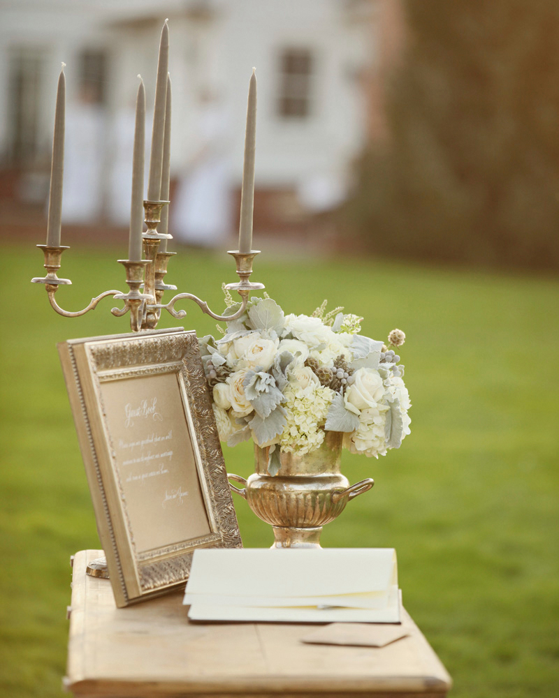 The Guest Book Table