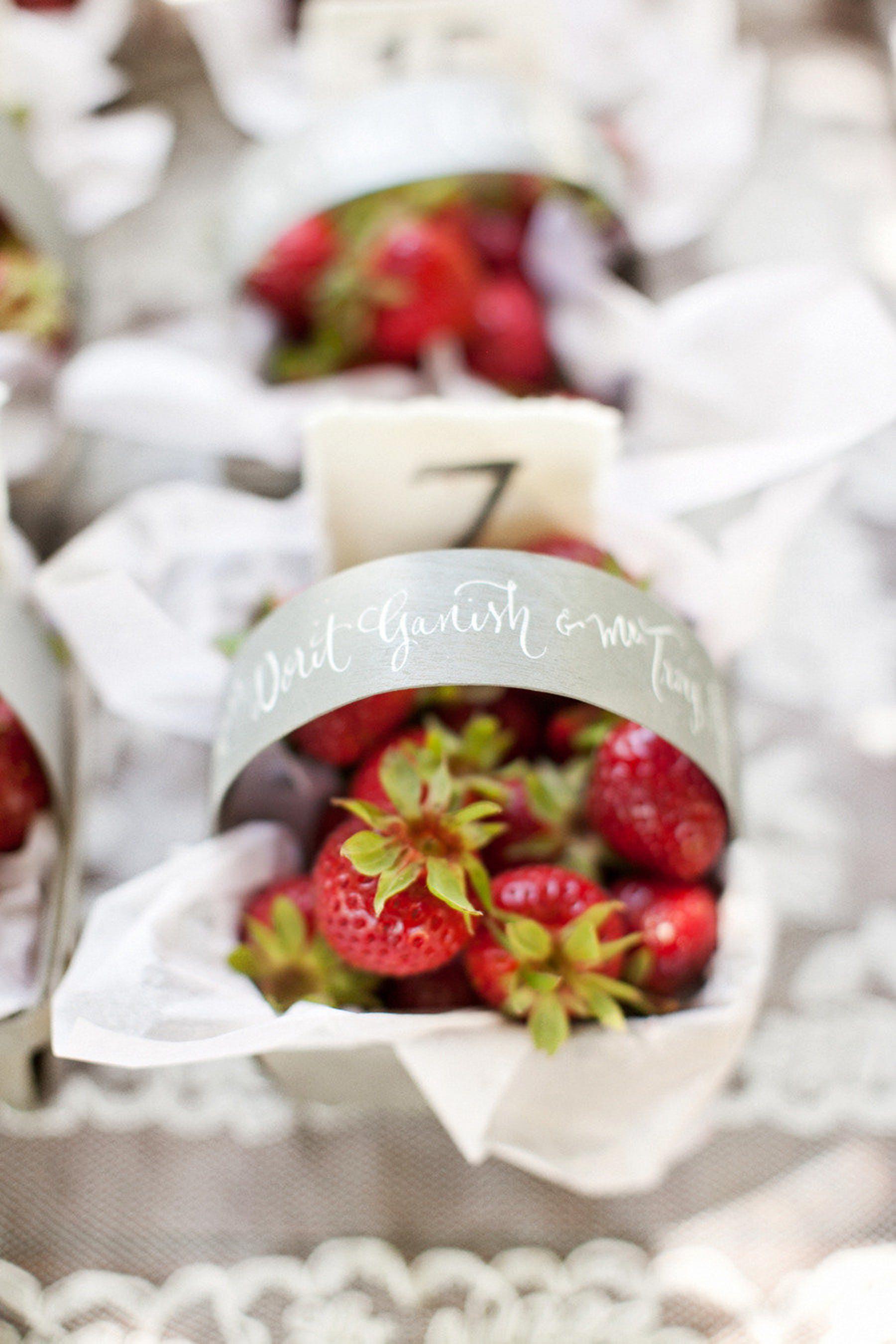 berry wedding ideas aaron delesie strawberries