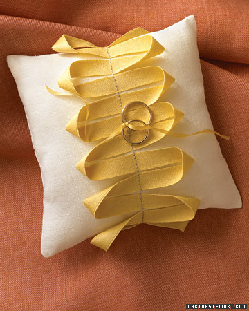 Swerving Ring Pillow