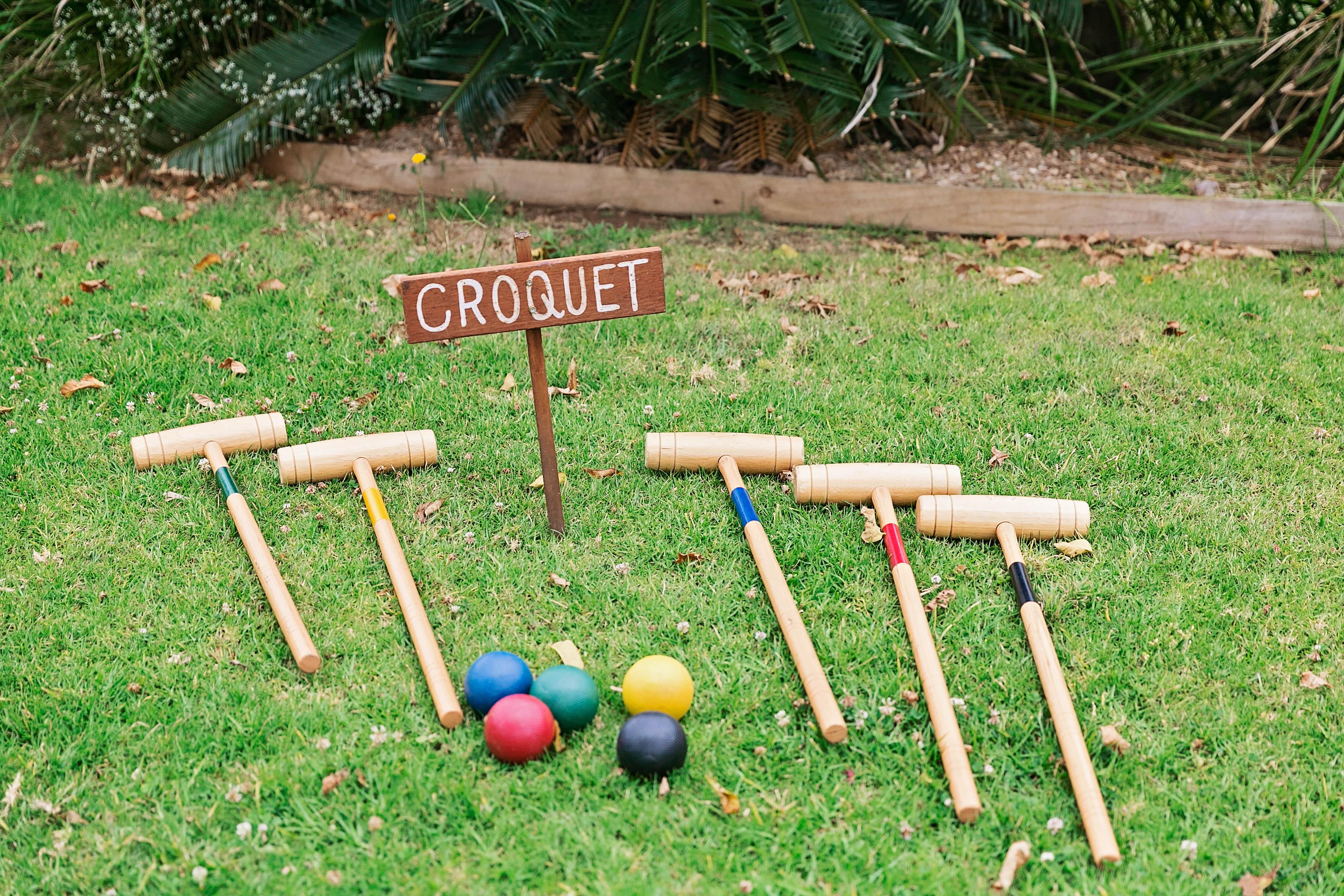 wedding games croquet
