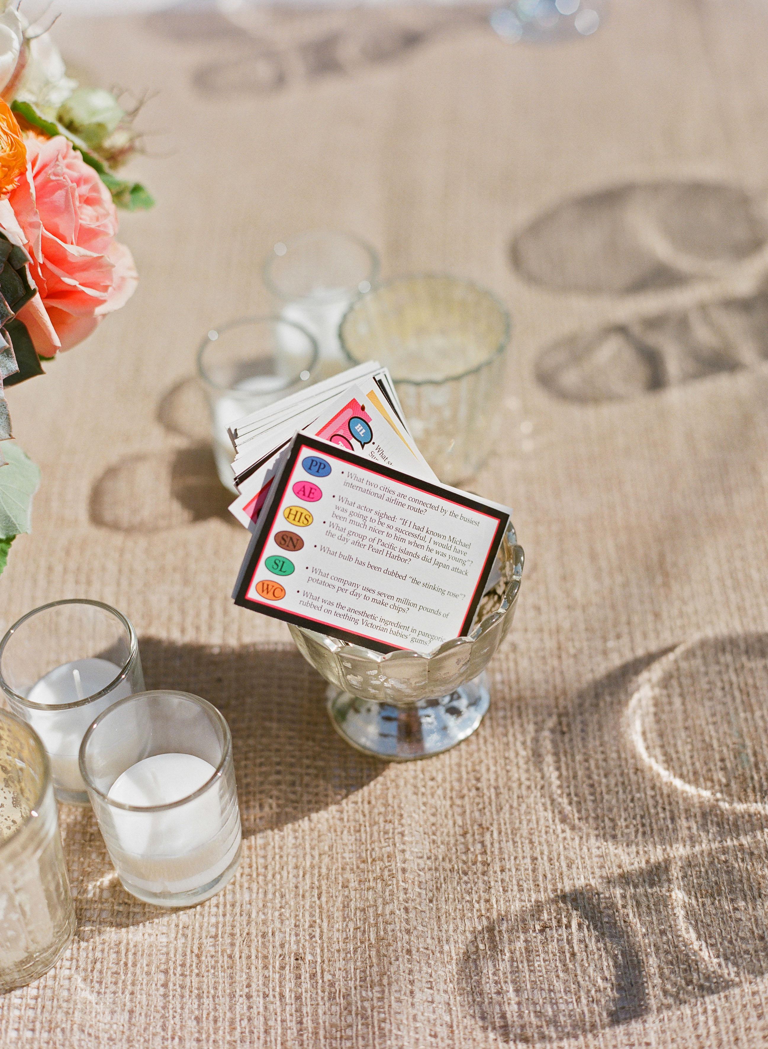 wedding games trivia
