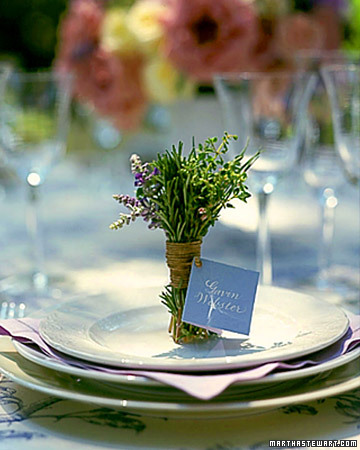 Herb Place Cards