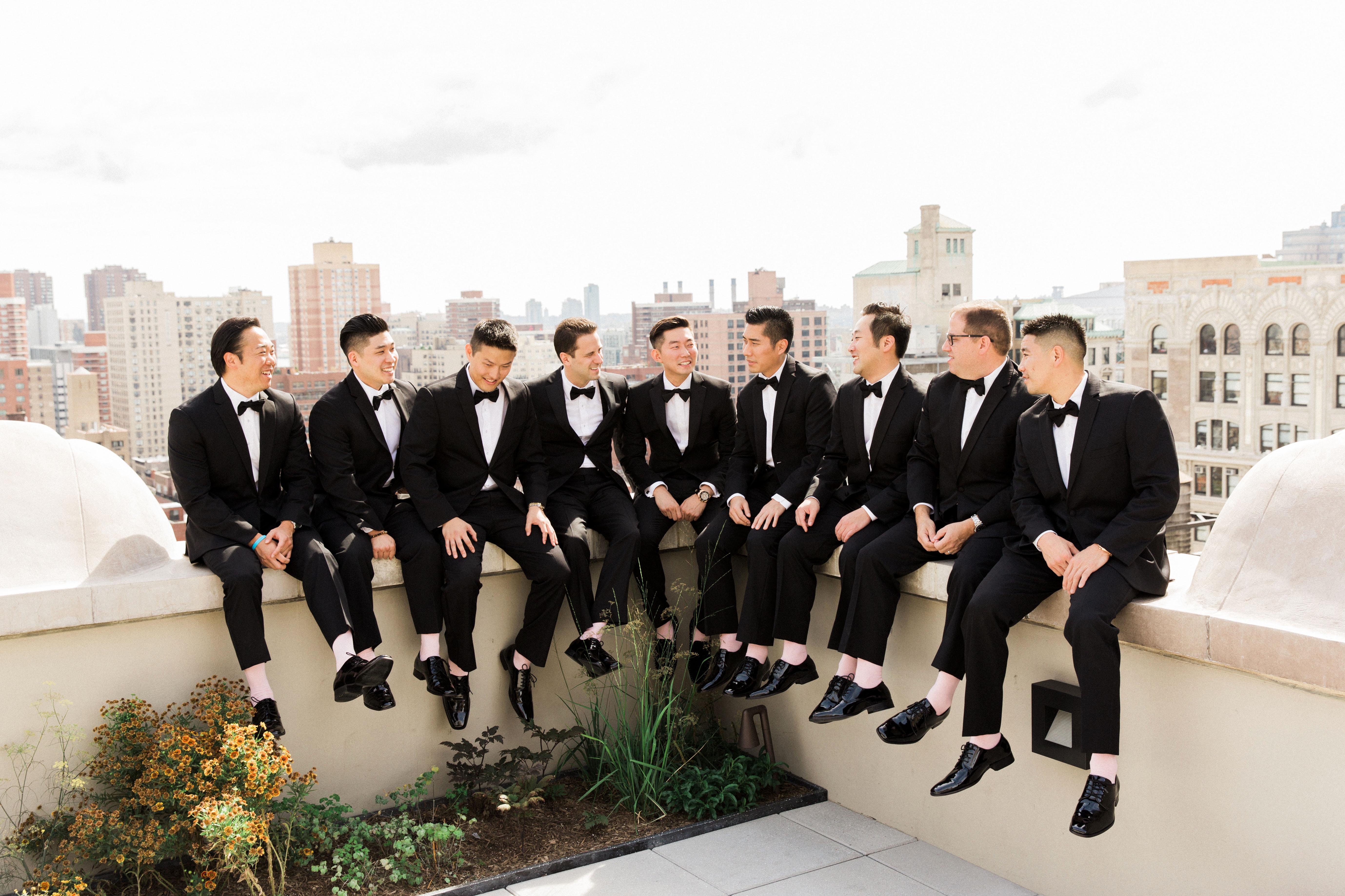 groomsmen koman photography