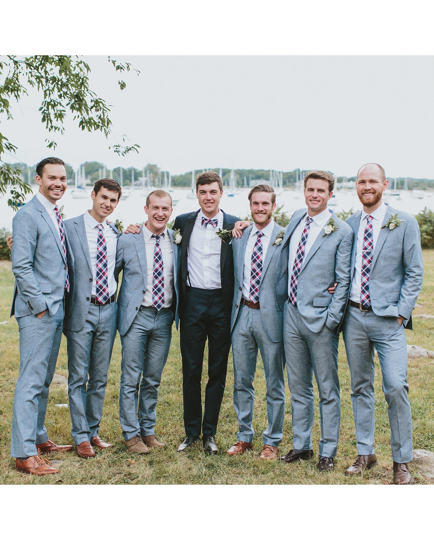 hadley corey wedding groomsmen