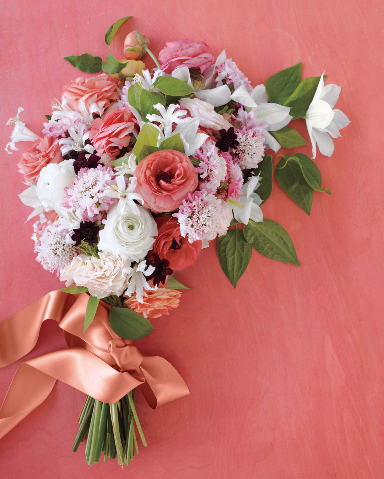 Romantic Bouquet Inspired by Chintz