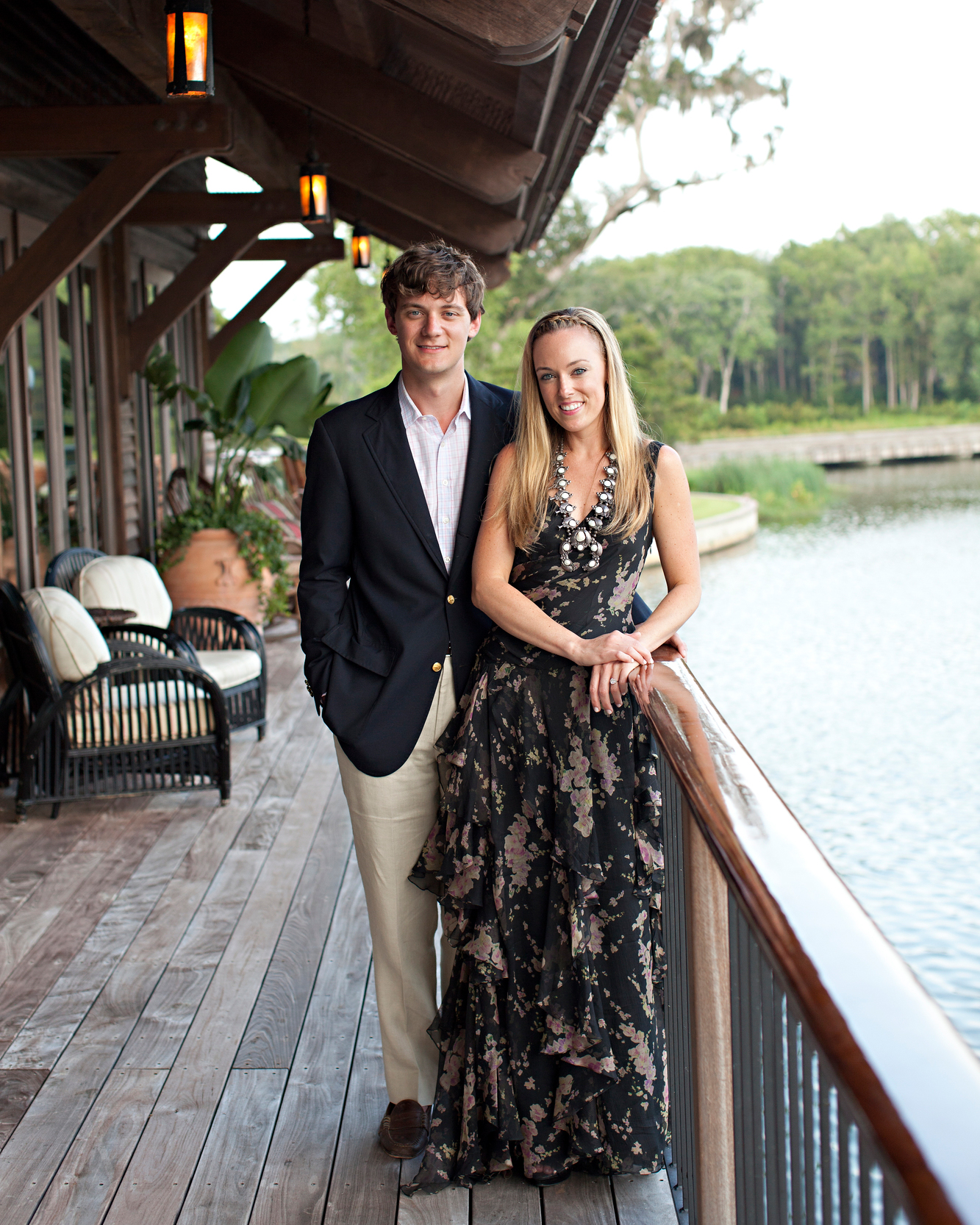 Hometown Wedding Rehearsal Slideshow: Laird And Ross's Festive Rehearsal Dinner With A Southern