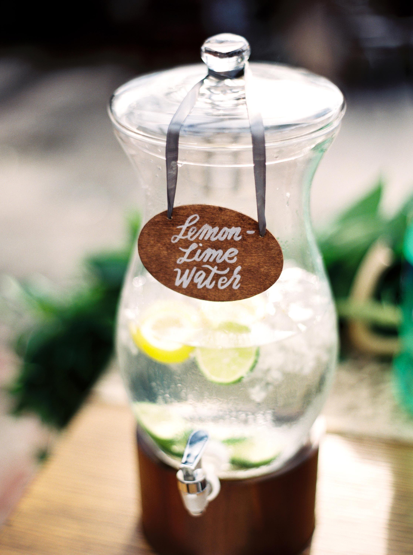 lemon lime water jug