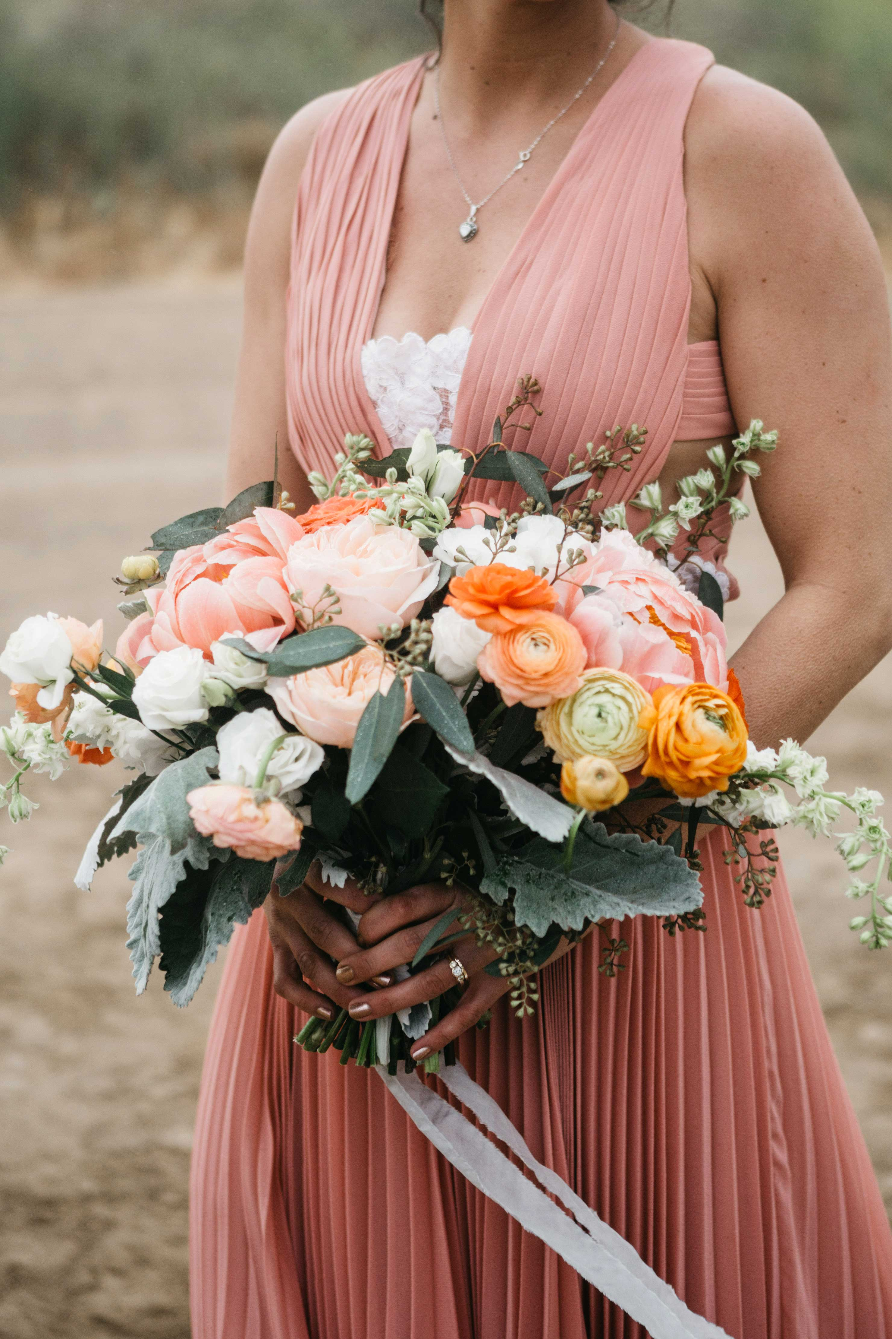 large pink bouquet