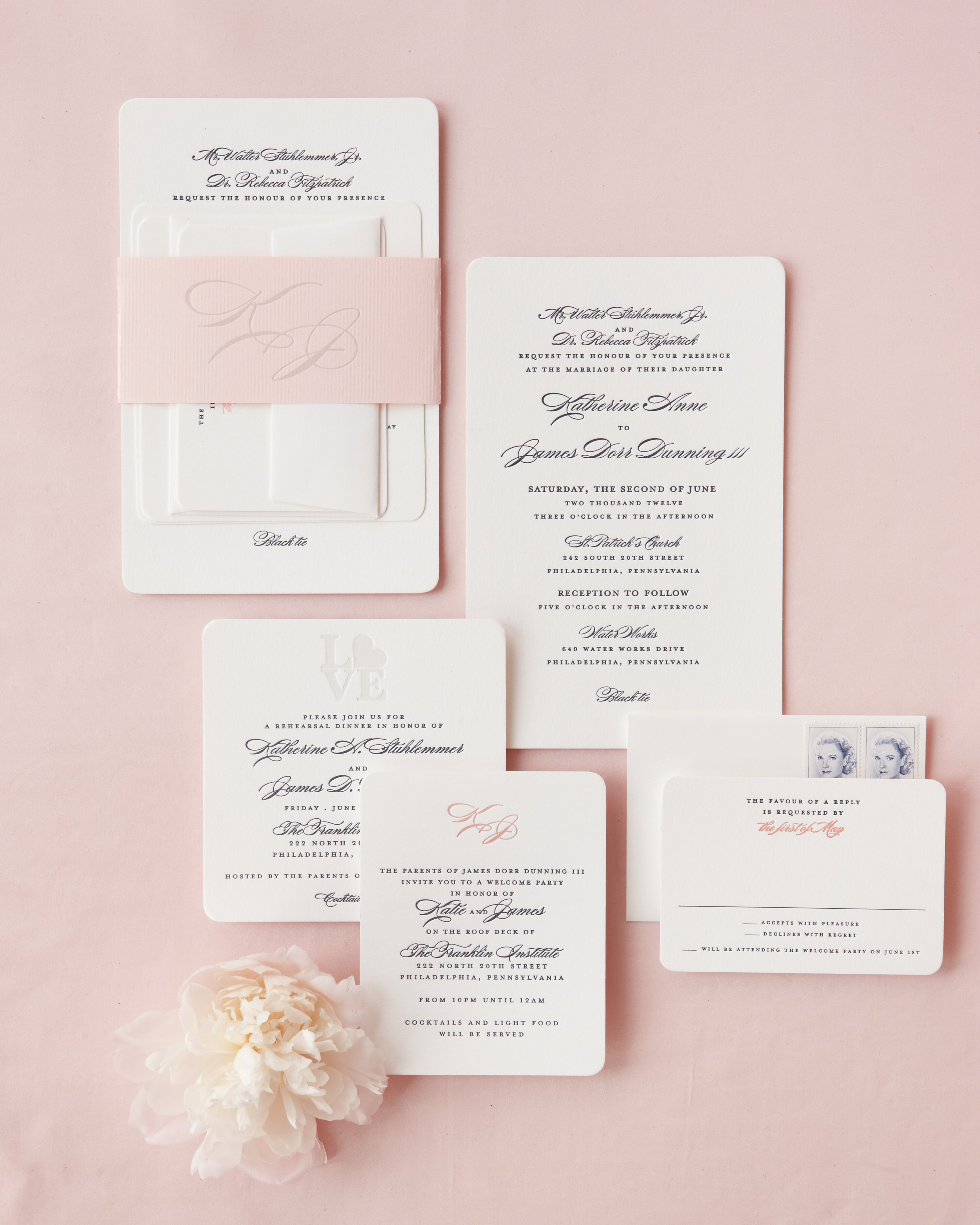 Classic Wedding Invitations for Traditional Brides and Grooms ...