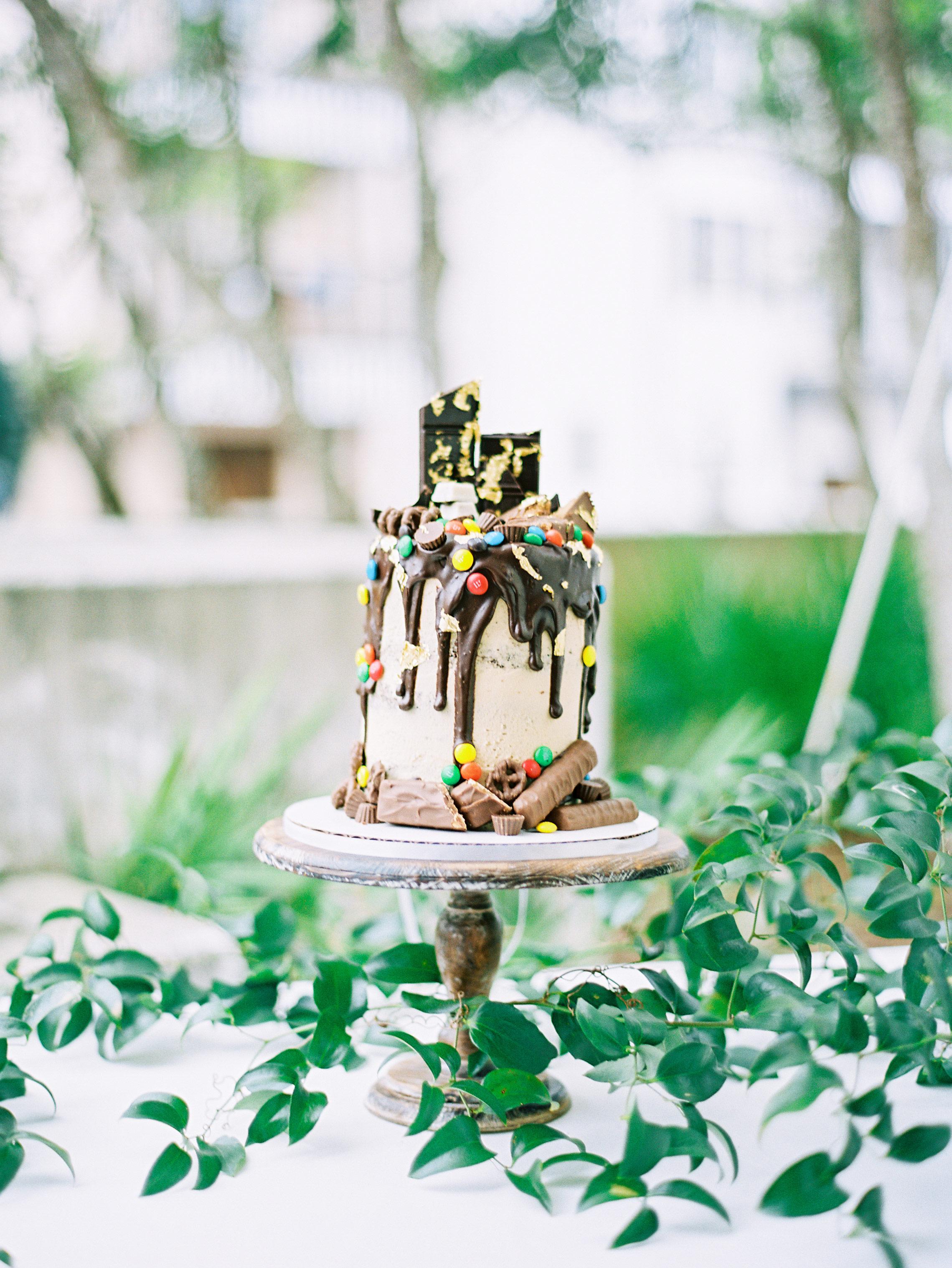 chocolate wedding ideas lauren kinsey