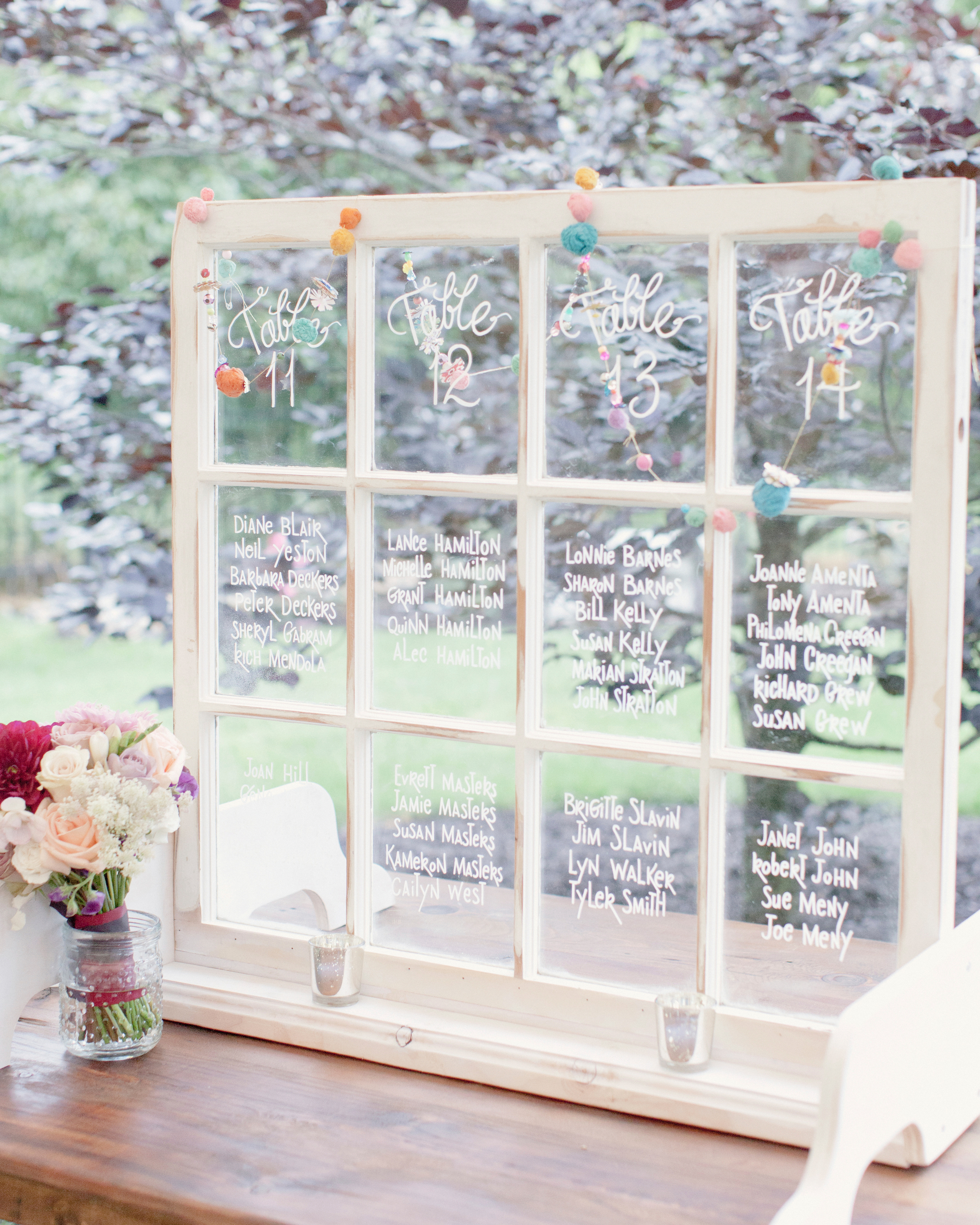 Whimsical Seating Chart
