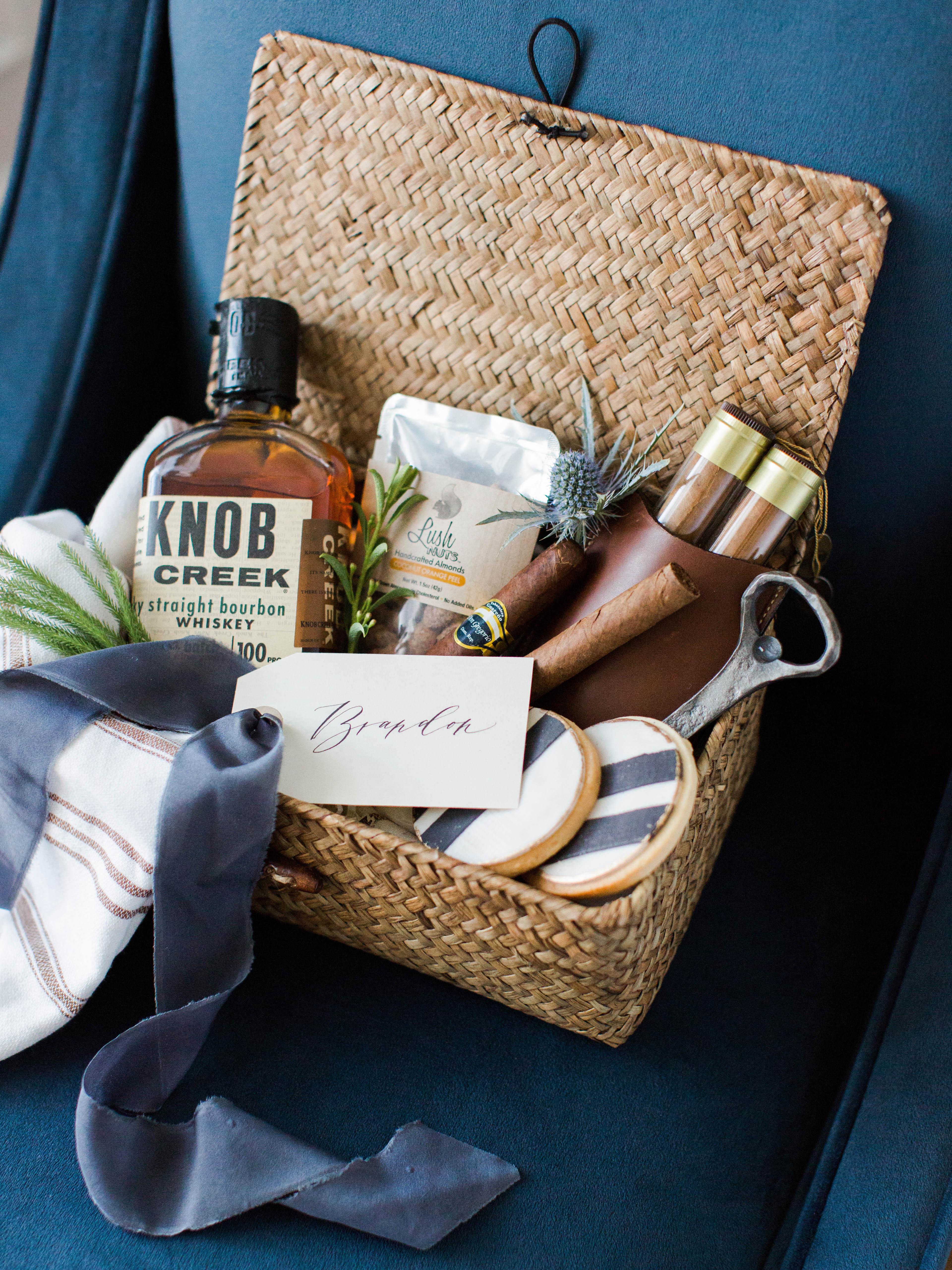 welcome basket rachel may marigoldgrey