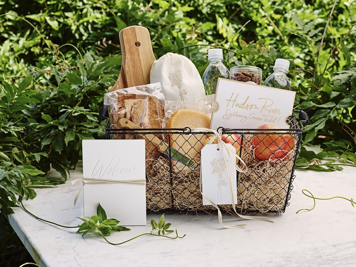 joyann jeremy wedding welcome basket