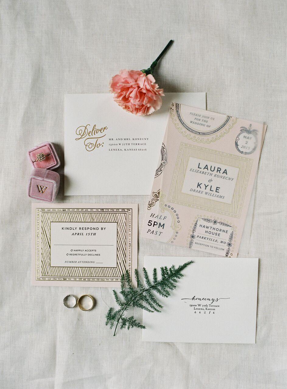 29 Ideas For Unique Wedding Invitations