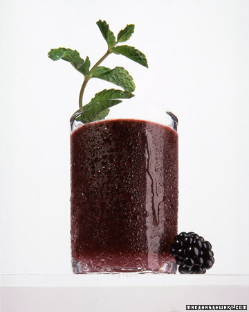 Blackberry-Mint Juleps