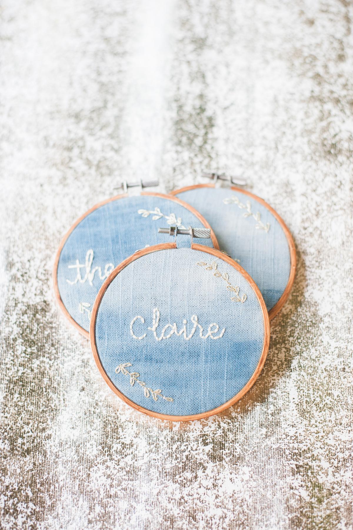 blue wedding ideas christa taylor