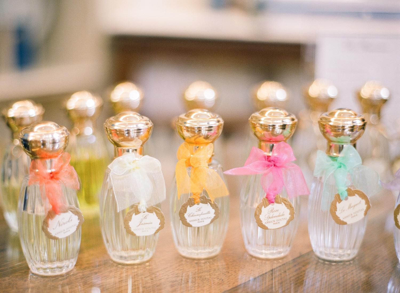 custom perfume bottle bridal party gifts