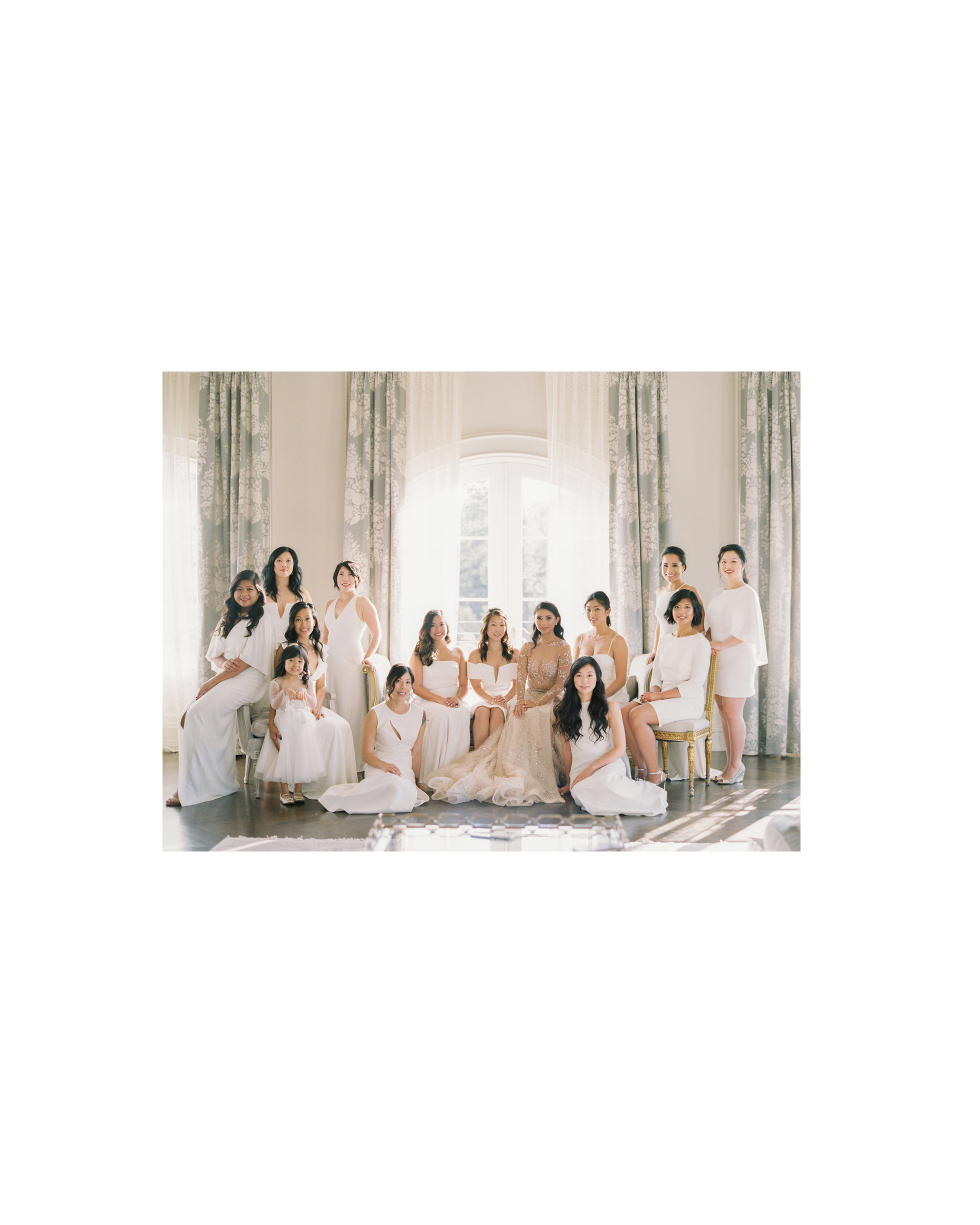 white bridesmaid dresses sophie kaye
