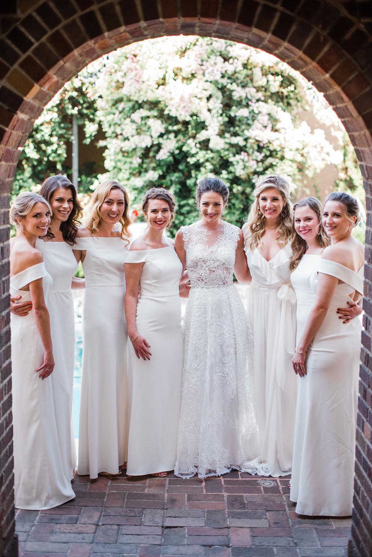 white bridesmaid dresses greg ross