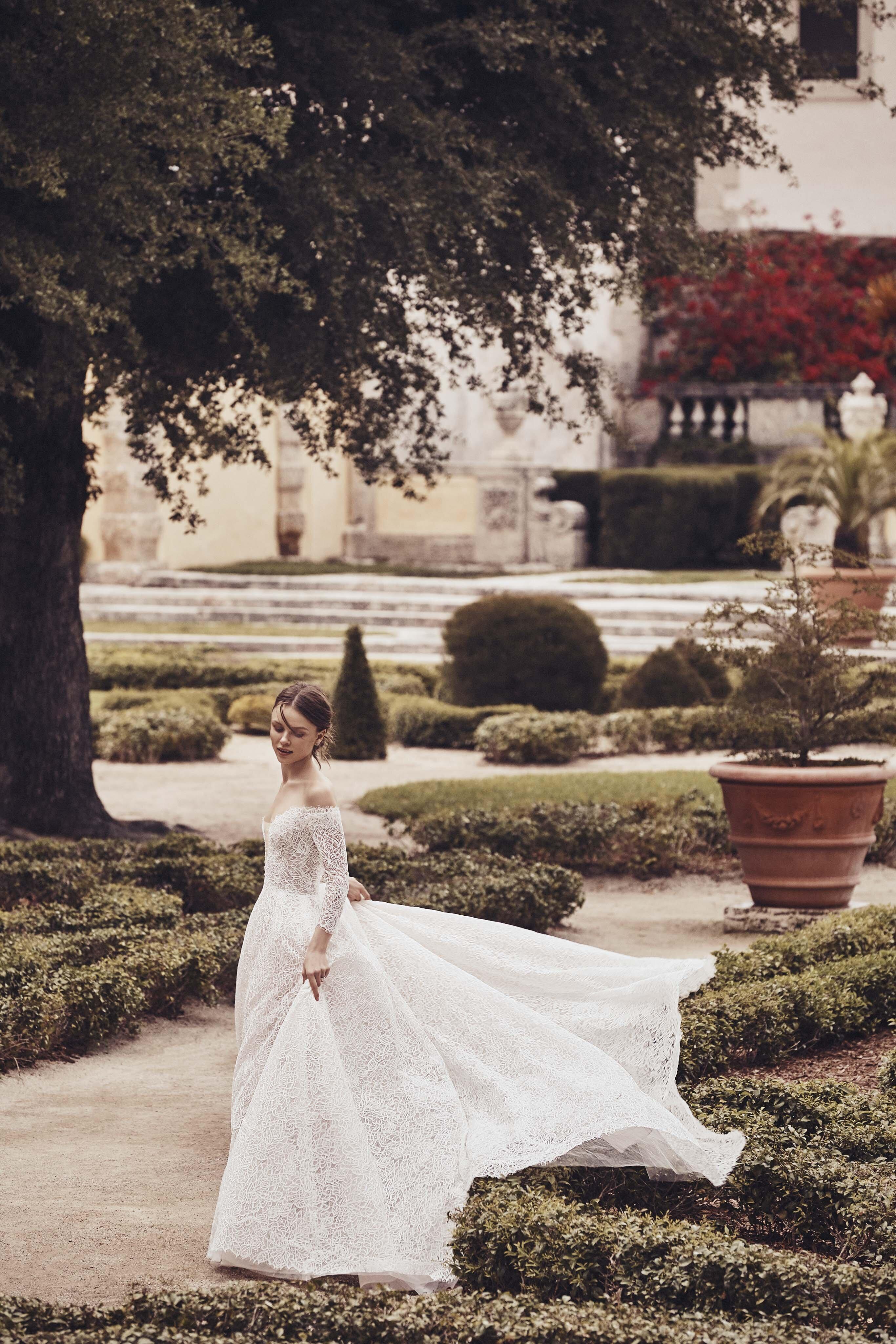 Long Sleeved Wedding Dresses We Love Martha Stewart Weddings