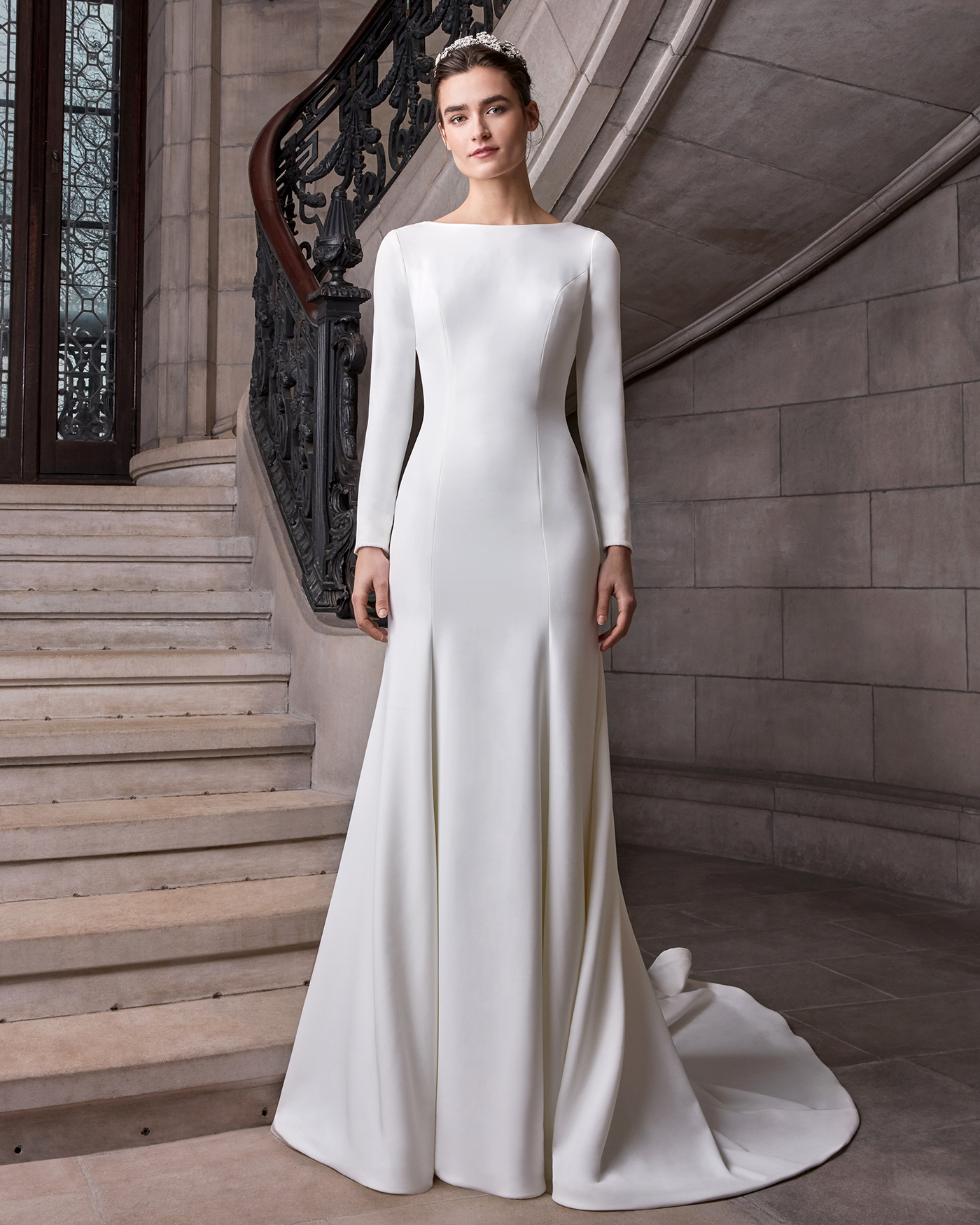 Long Sleeved Wedding Dresses We Love Martha Stewart Weddings