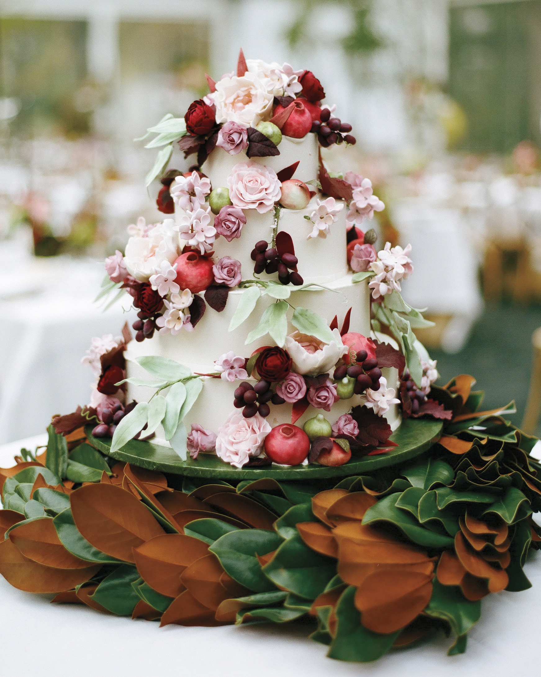 Bountiful Wedding Cake
