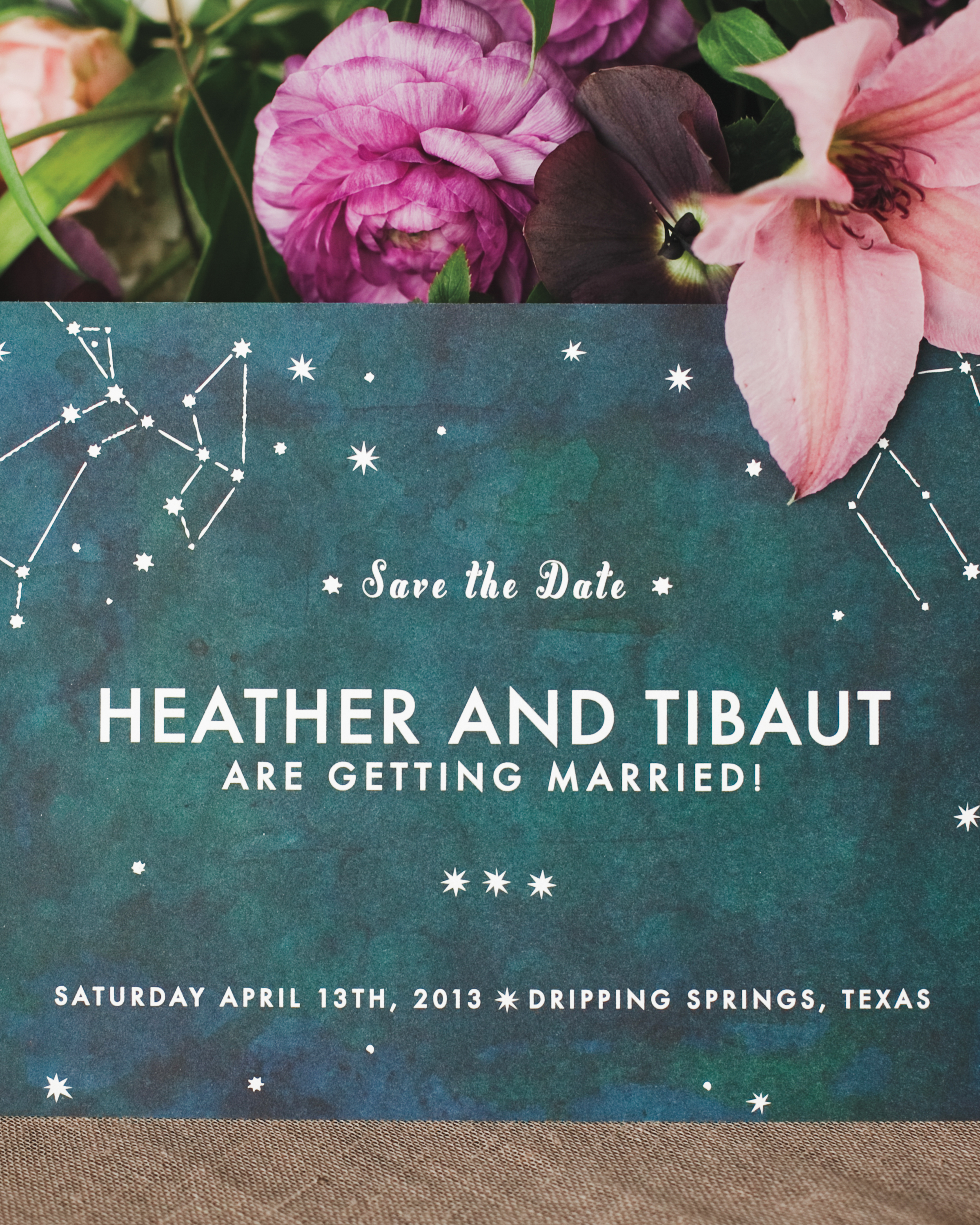 Starry Save-the-Dates