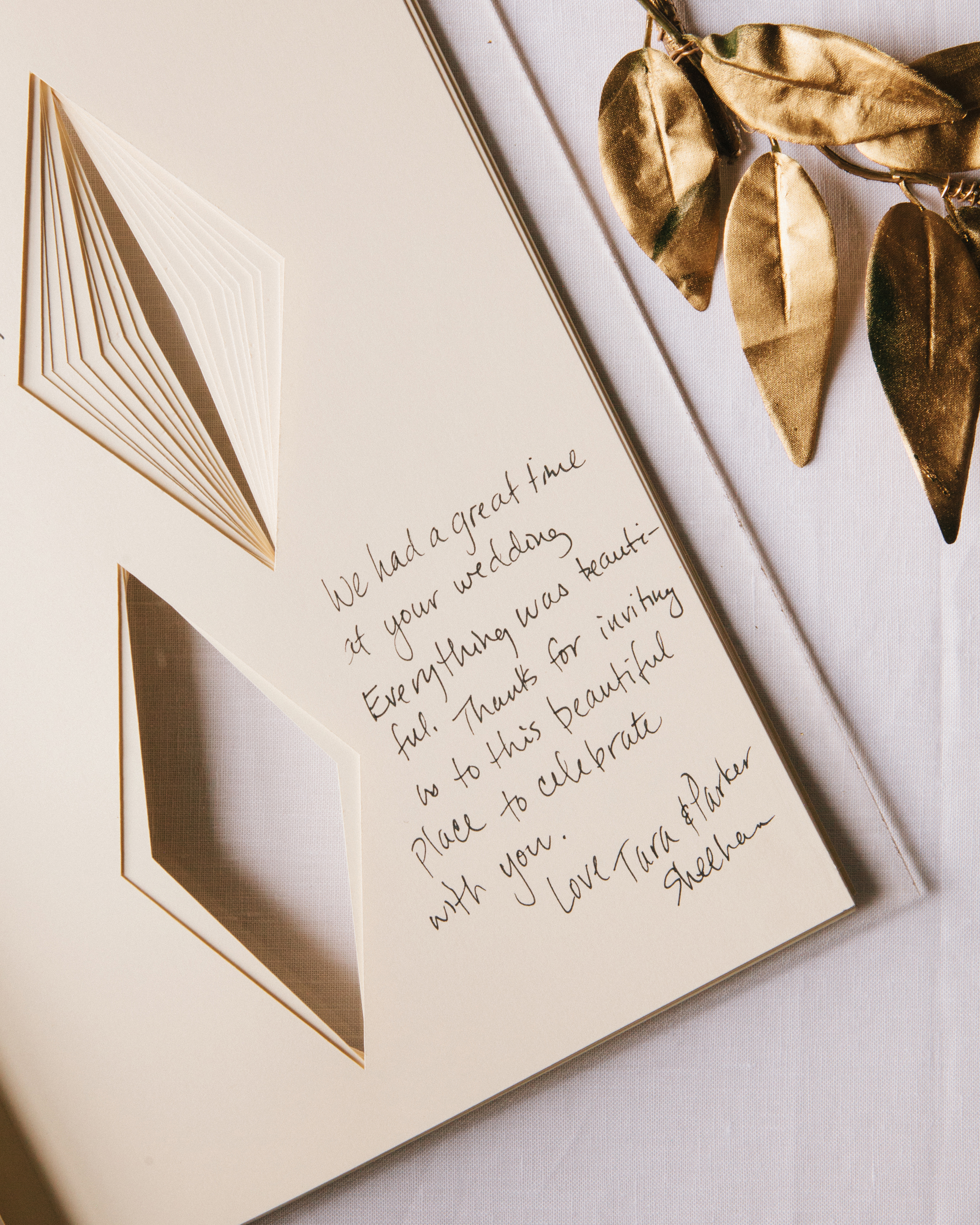 A Shapely Guest Book