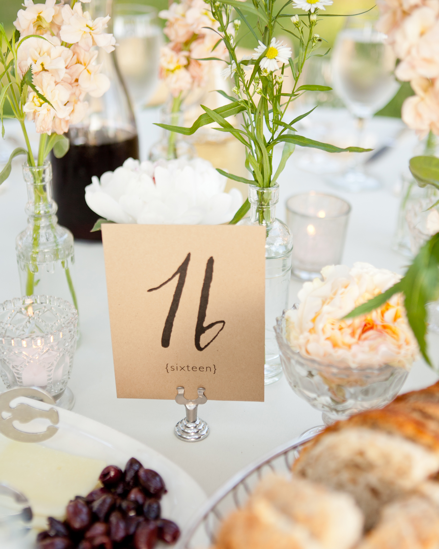 Bride-Designed Table Numbers