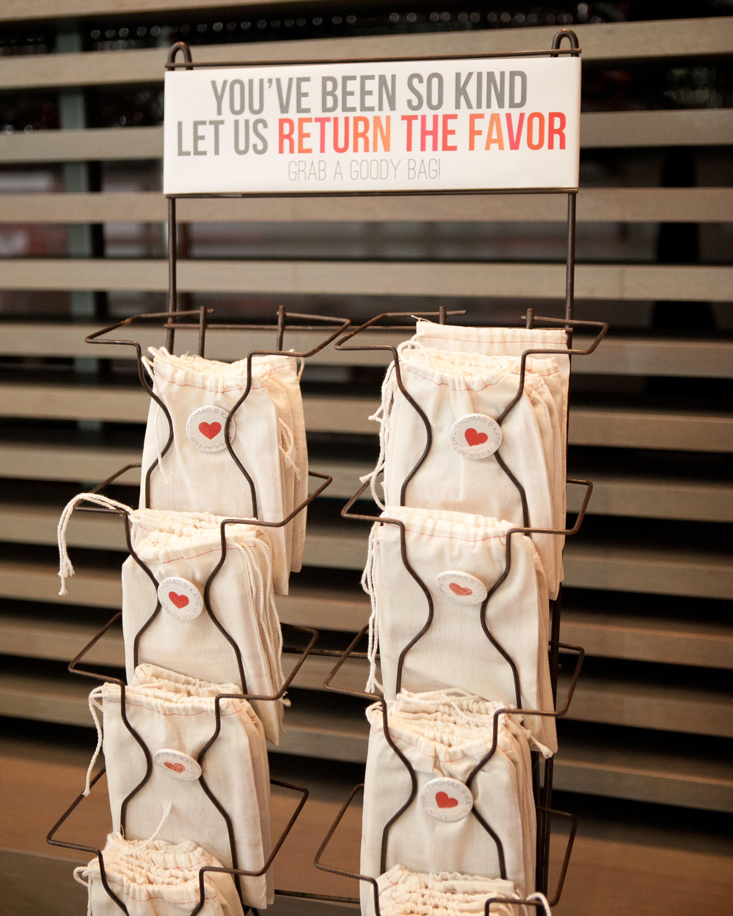 The Favor Display