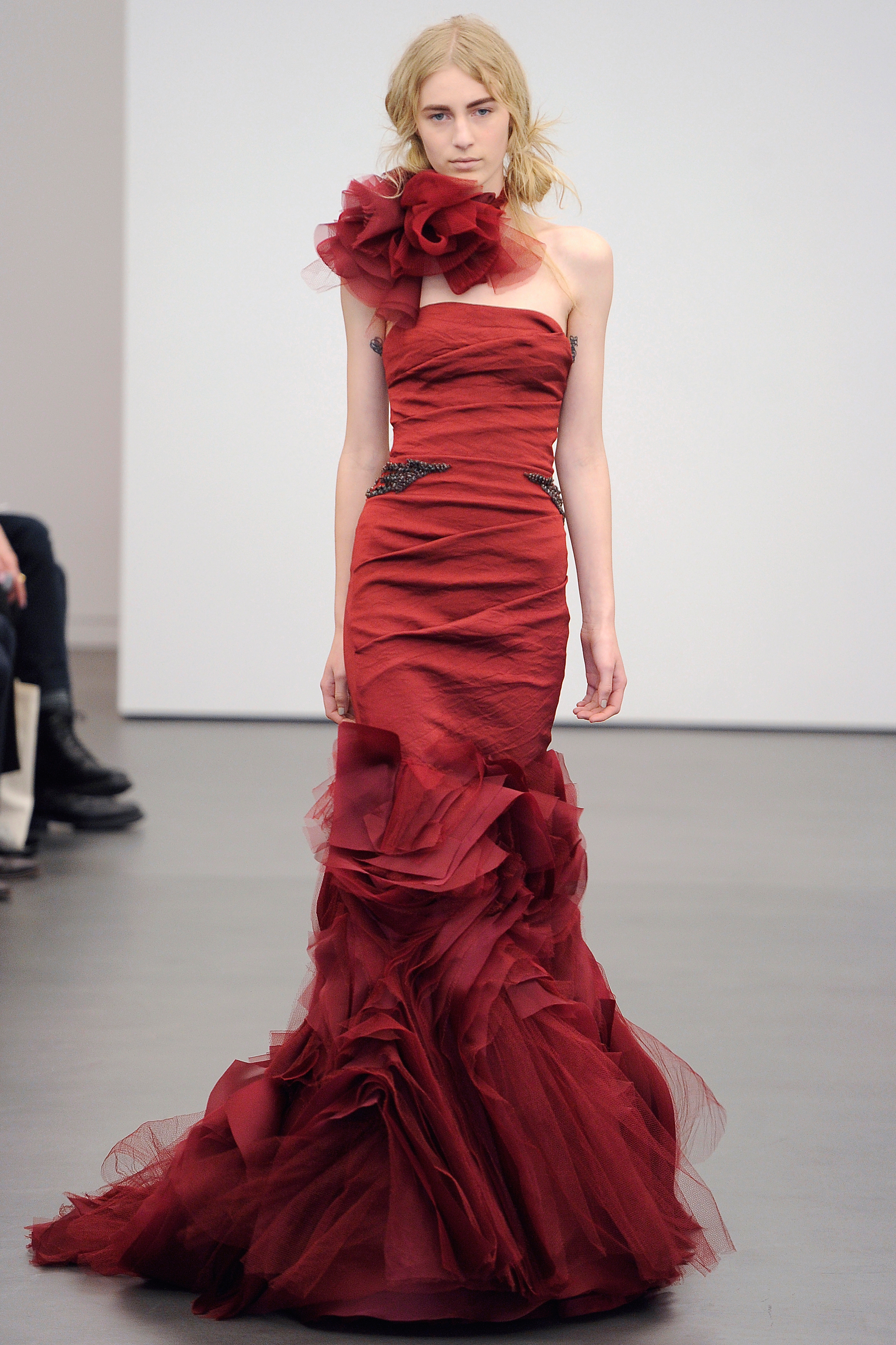 Reception Dress: On the Runway
