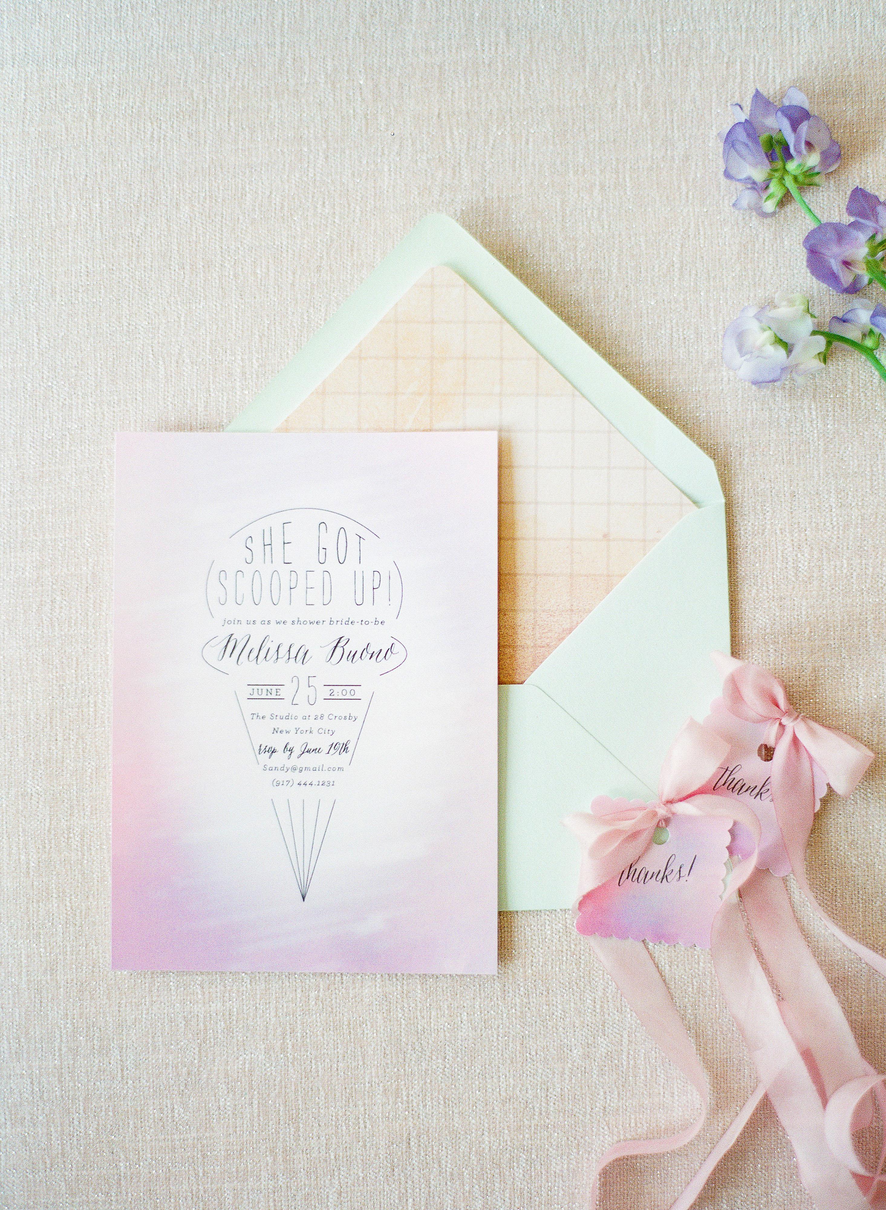 bridal shower invitations brklyn view