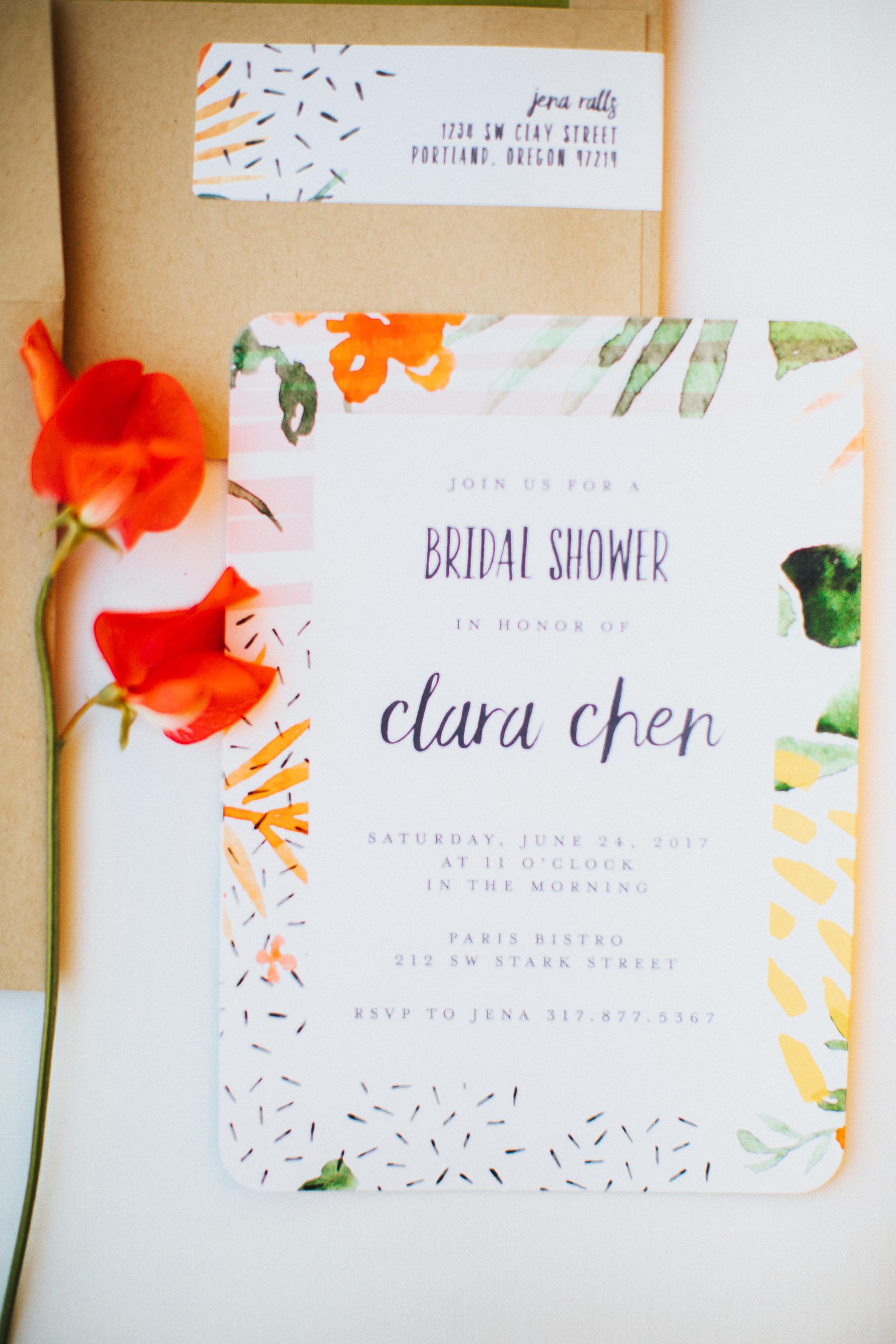 bridal shower invitations shutterfreek