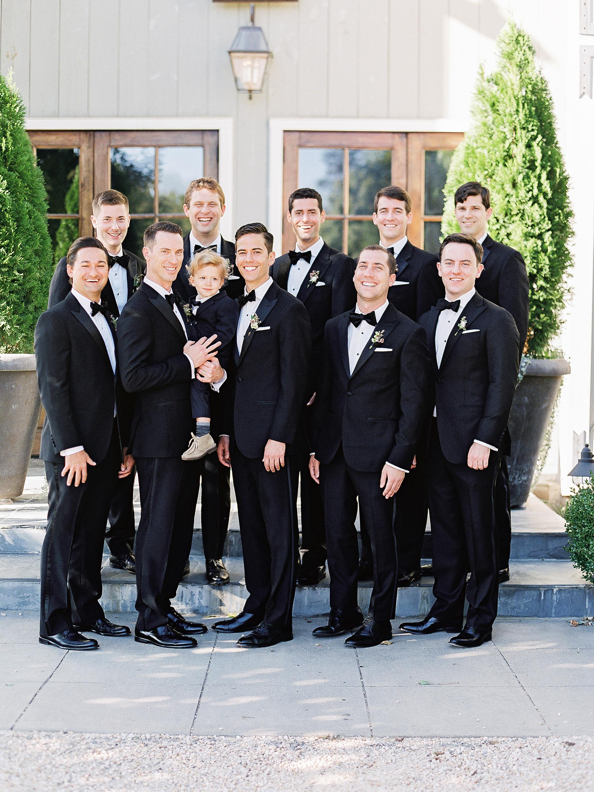 julianne aaron wedding groomsmen