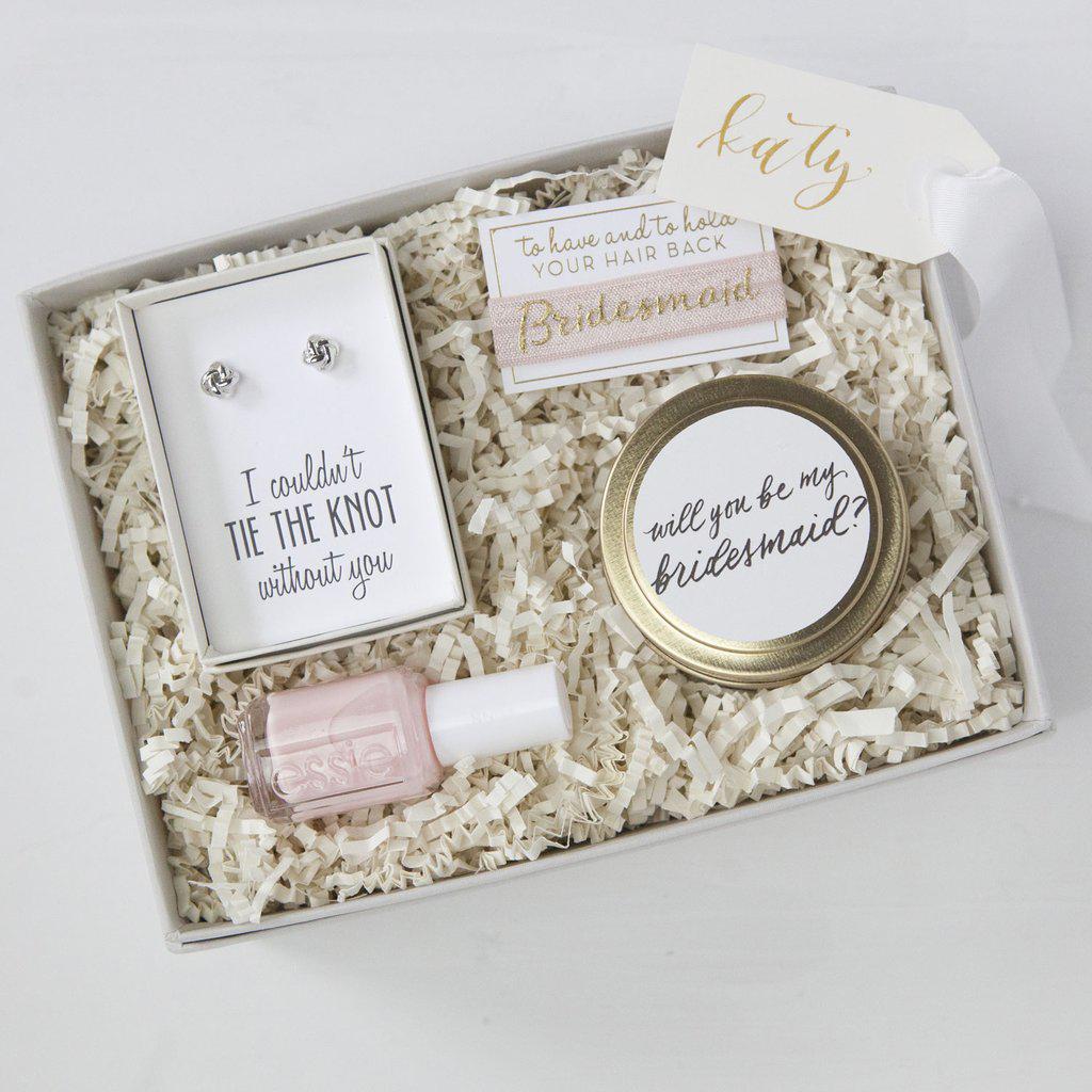 be my bridesmaid beauty box