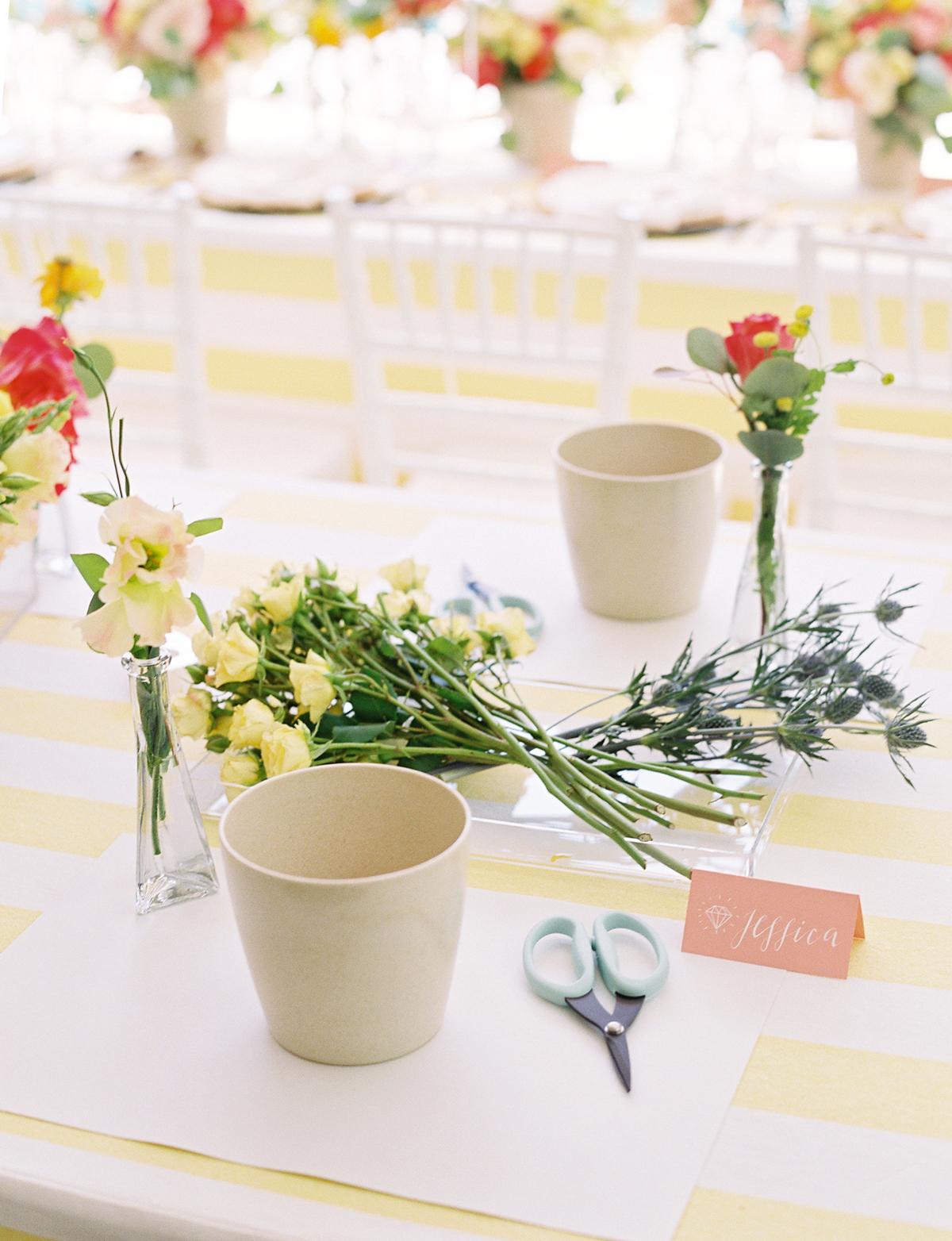 be my bridesmaid floral arrangement class