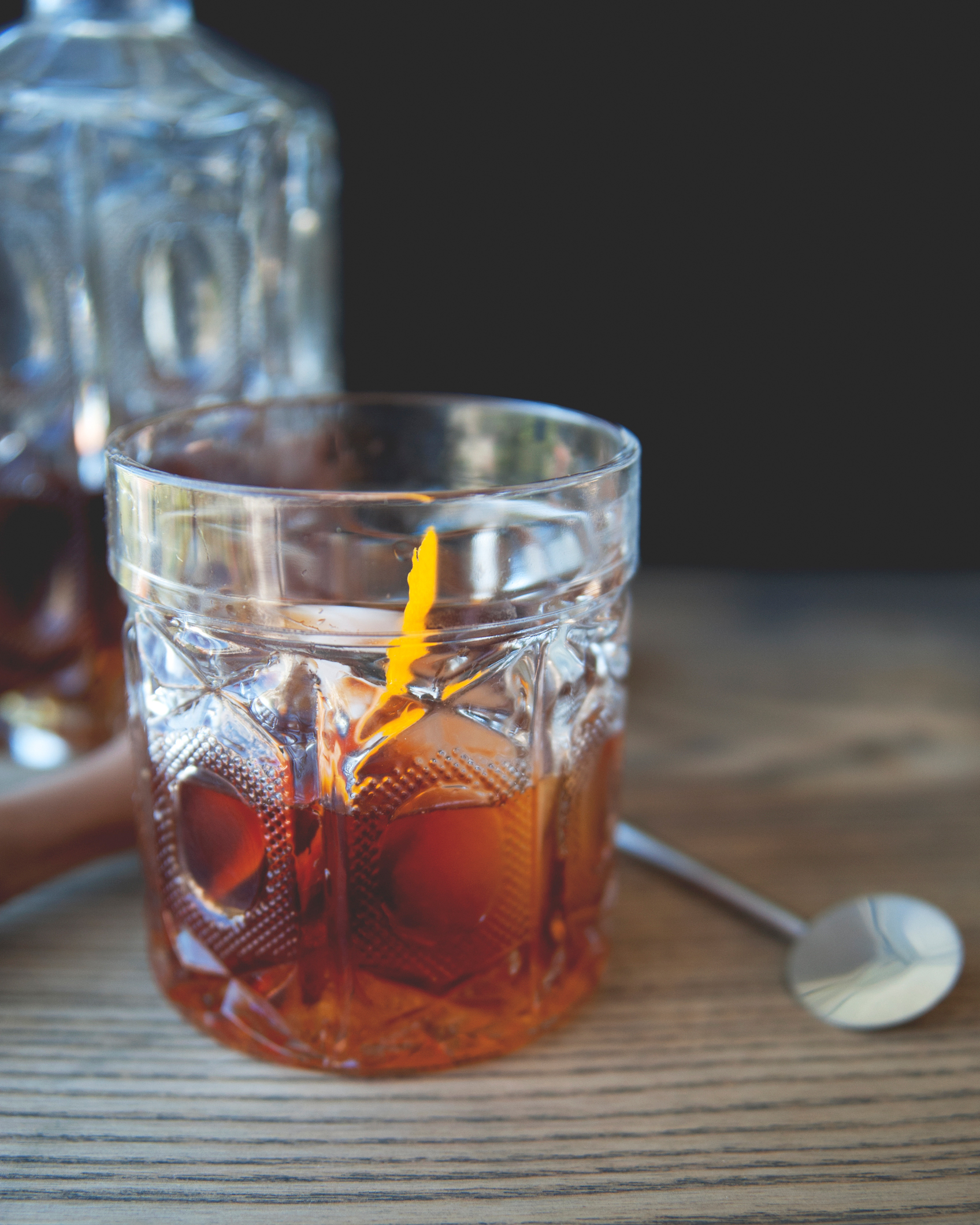 Sexy Rum Old Fashioned