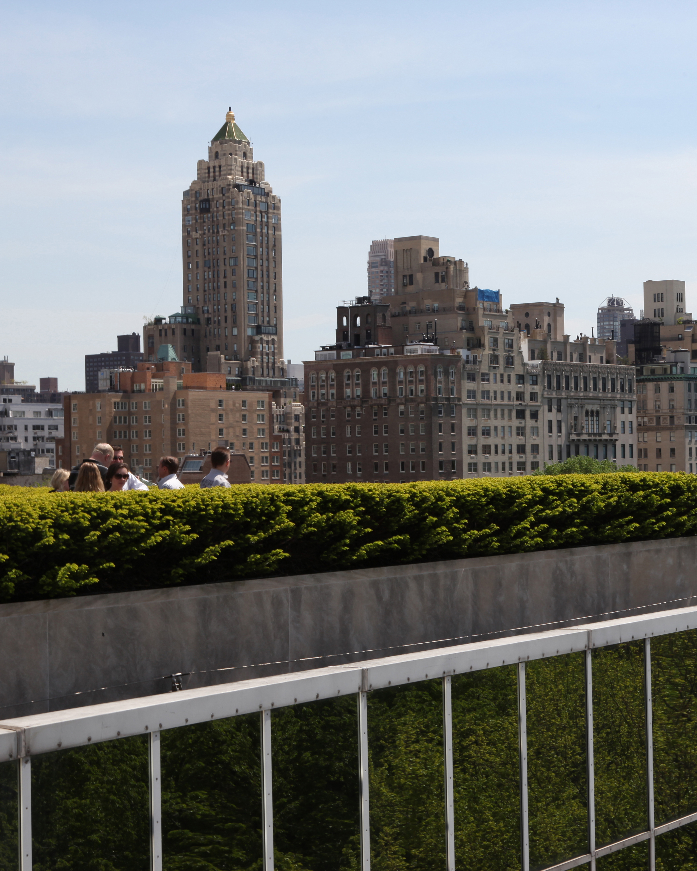 Roof Garden at the Met