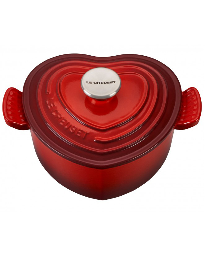 Le Creuset Red Heart Cocotte